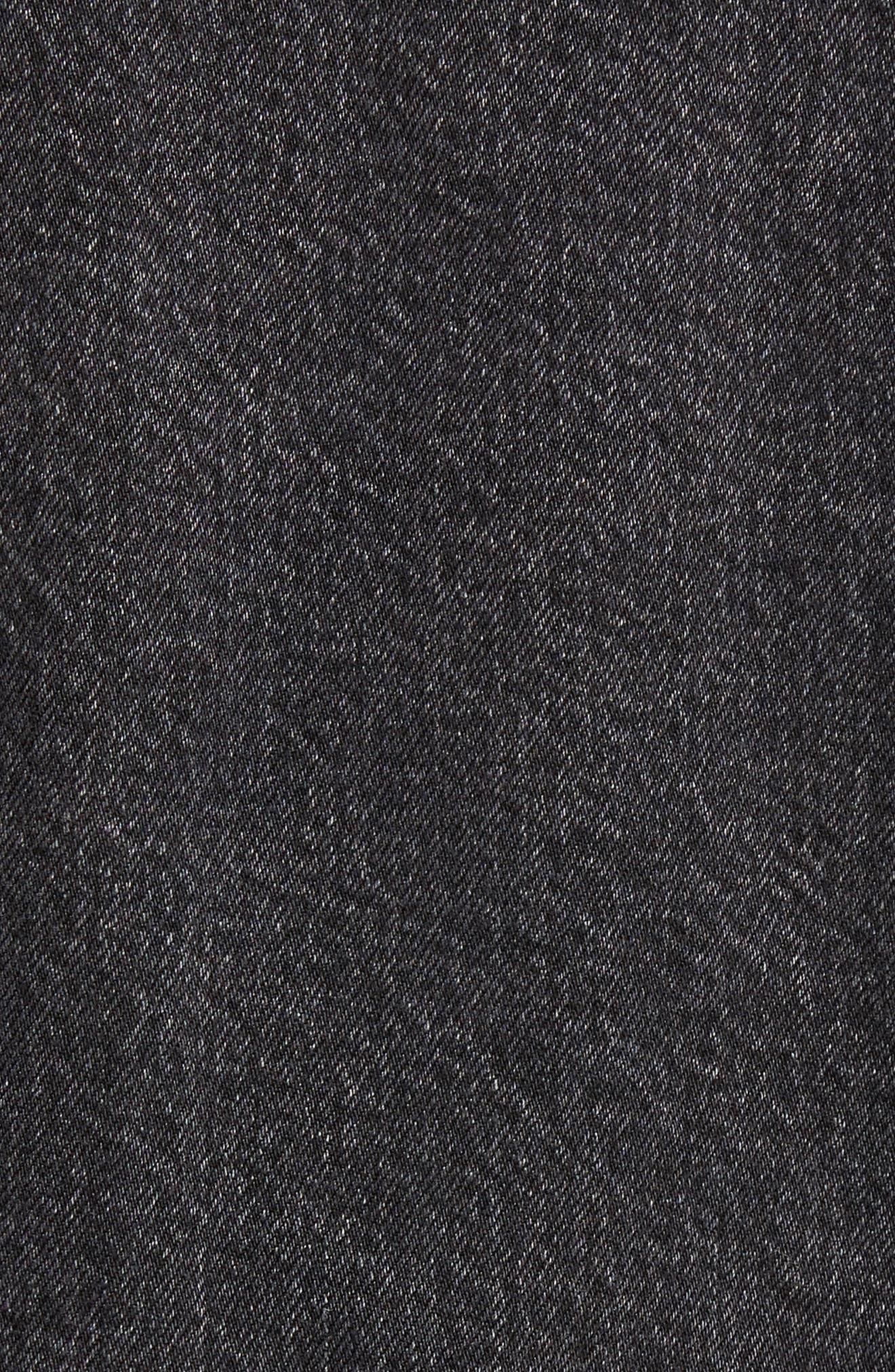 Alternate Image 5  - Levi's® Altered Distressed Denim Trucker Jacket