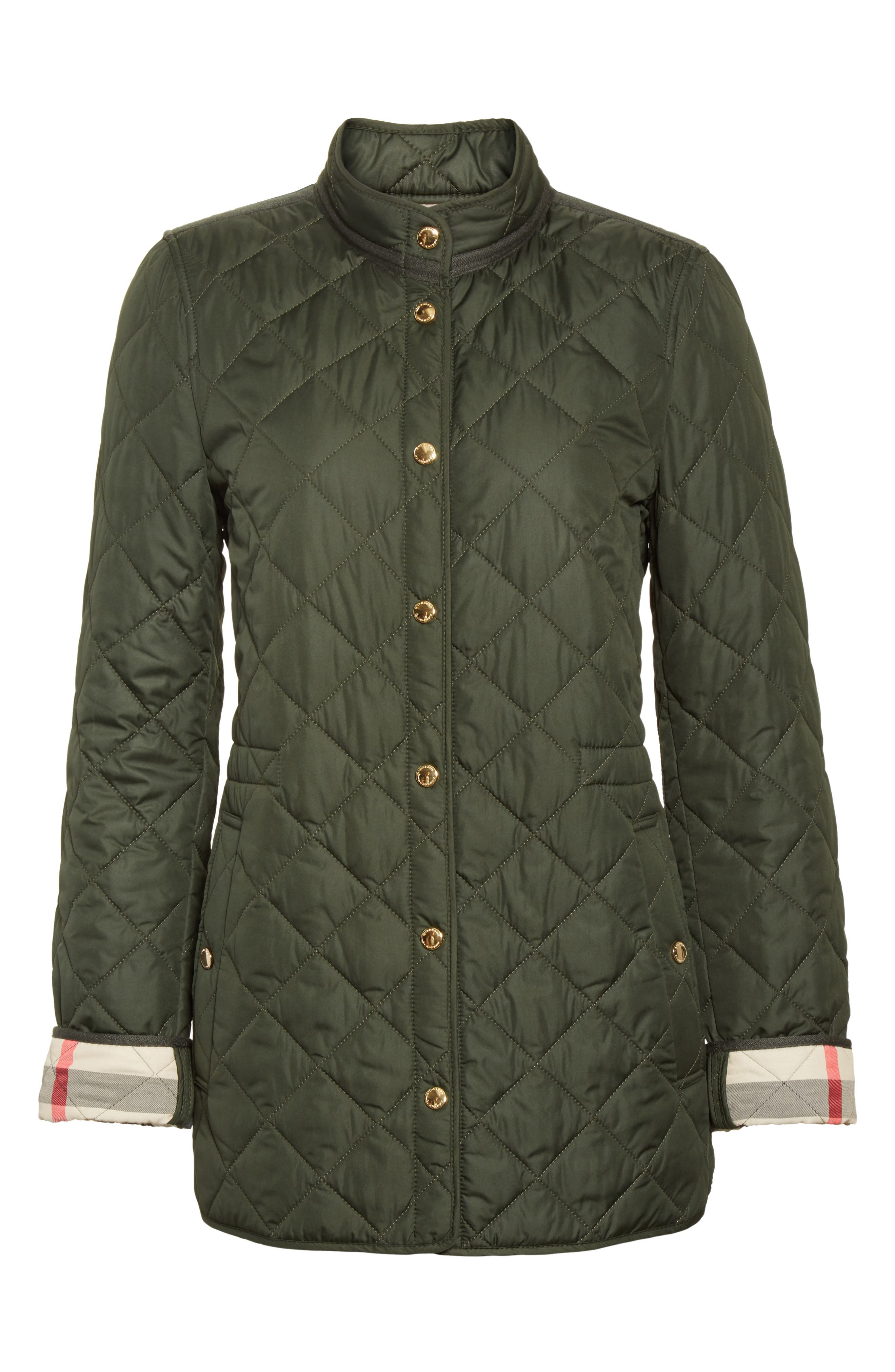Alternate Image 4  - Burberry Pensham Quilted Jacket (Nordstrom Exclusive)