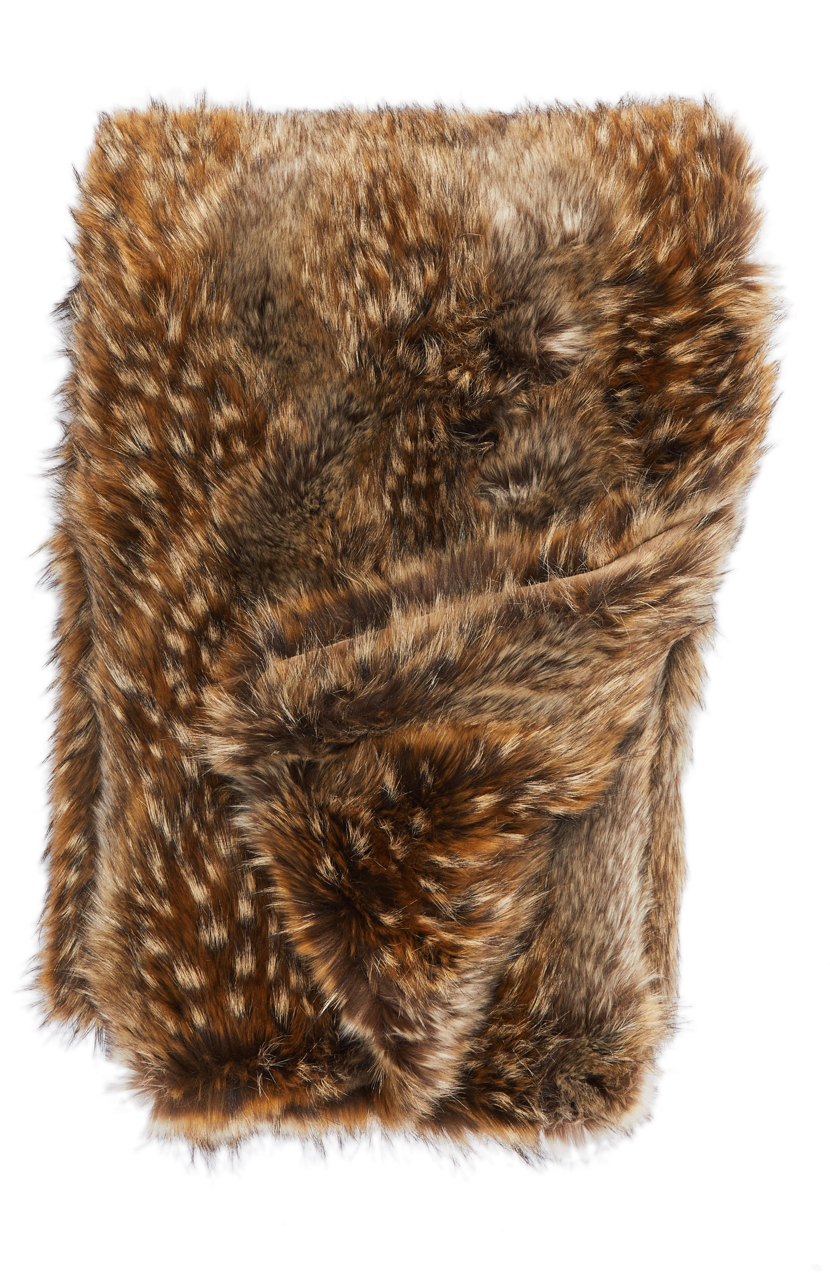 main image nordstrom at home fox faux fur throw blanket - Faux Fur Throws