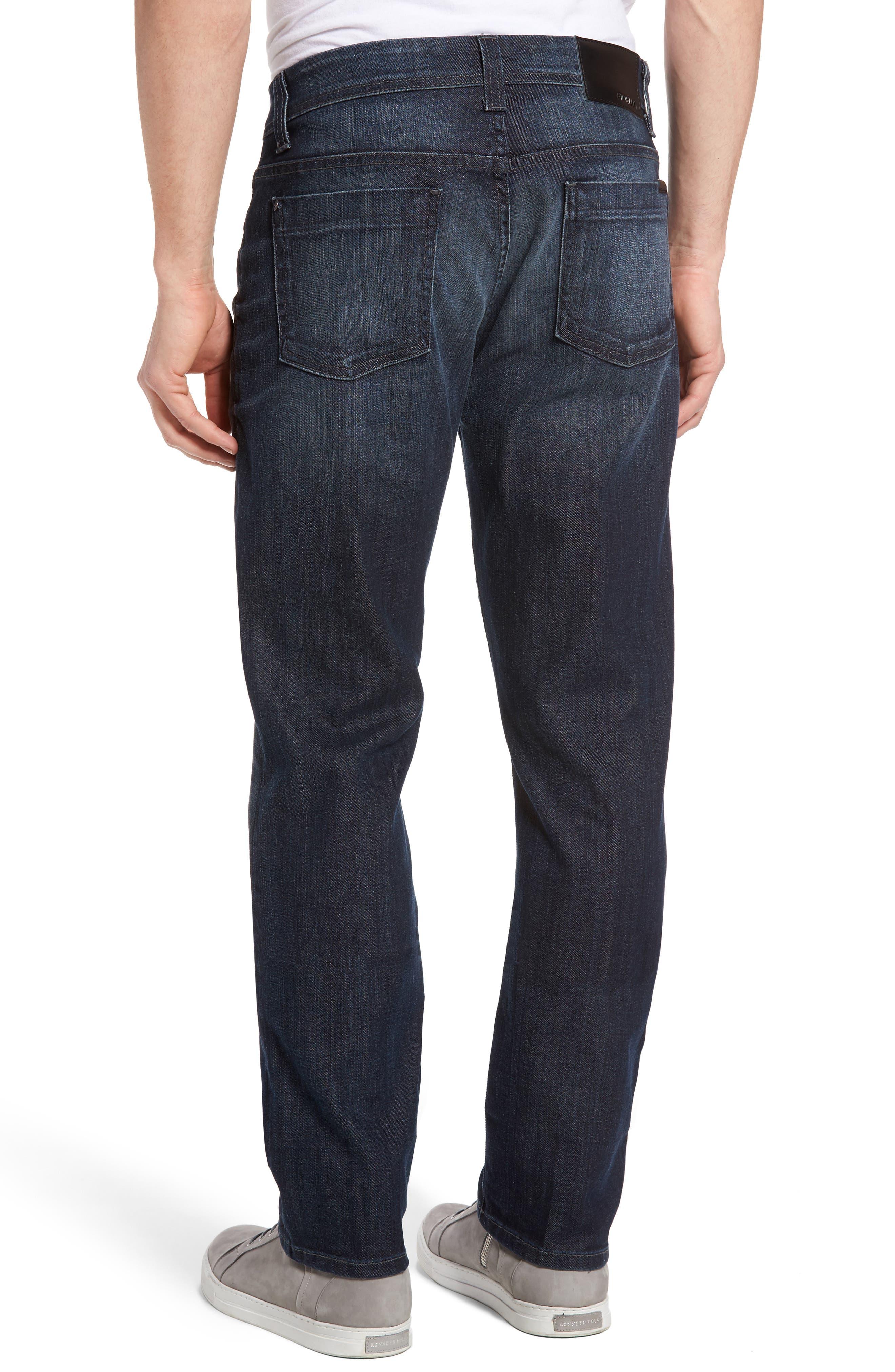 Jimmy Slim Straight Leg Jeans,                             Alternate thumbnail 2, color,                             Scorpion