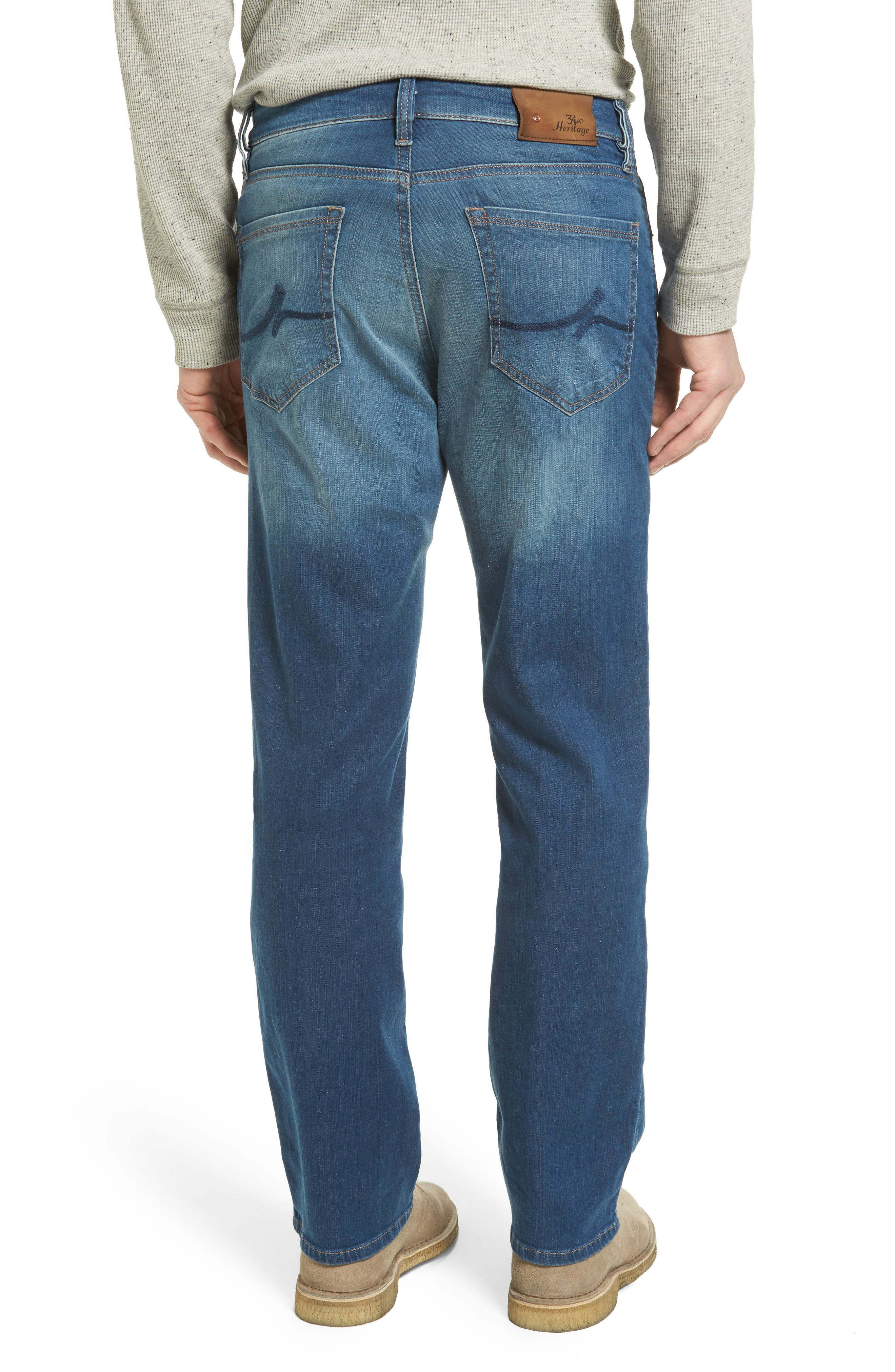 Alternate Image 2  - 34 Heritage 'Charisma' Classic Relaxed Fit Jeans (Mid Cashmere) (Online Only) (Regular & Tall)