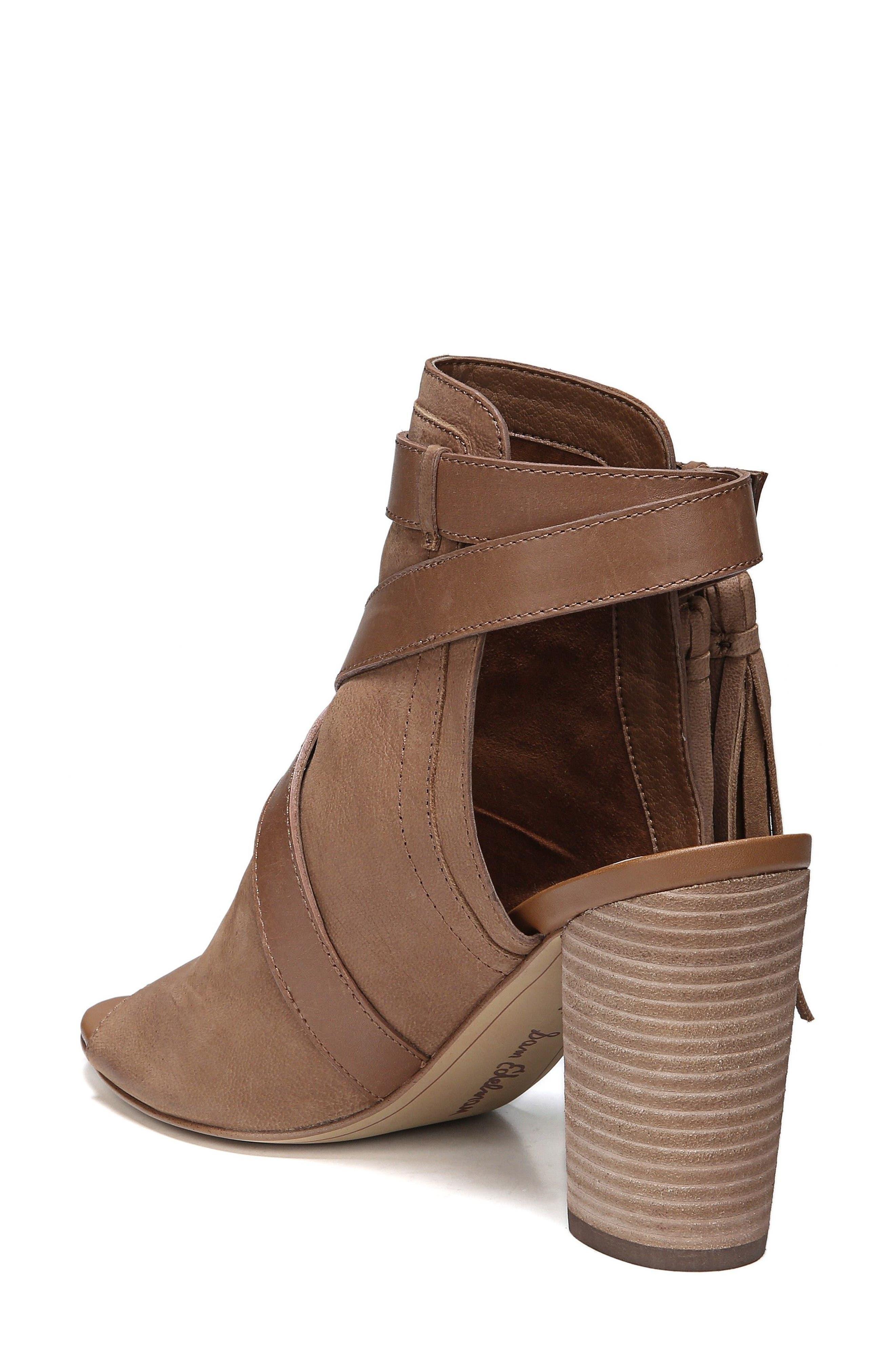 Vermont Block Heel Sandal,                             Alternate thumbnail 2, color,                             Deep Saddle Nubuck Leather
