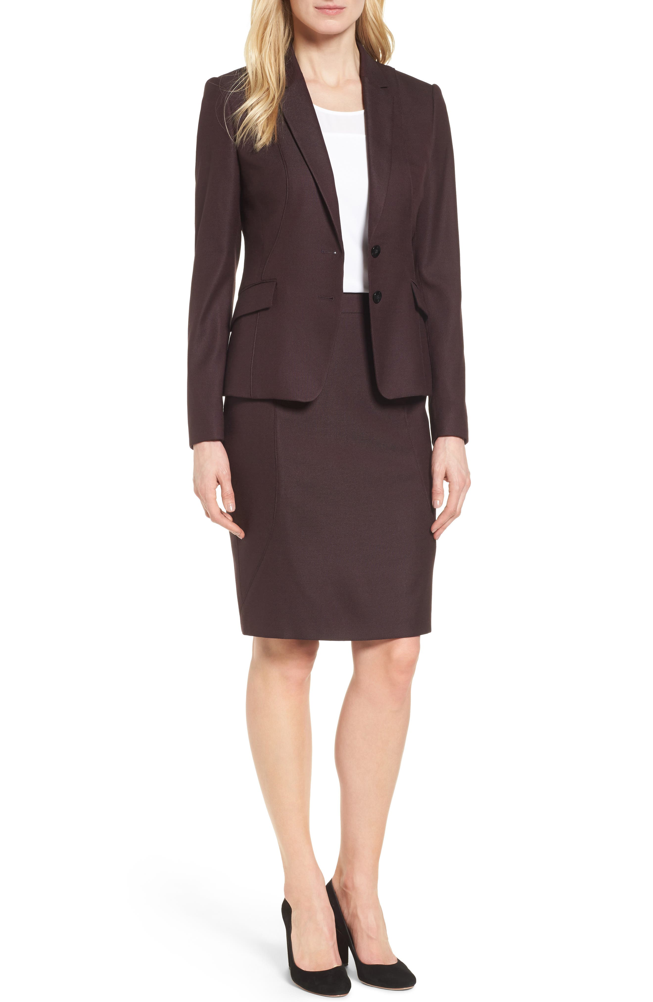 Alternate Image 2  - BOSS Jenesa Suit Jacket