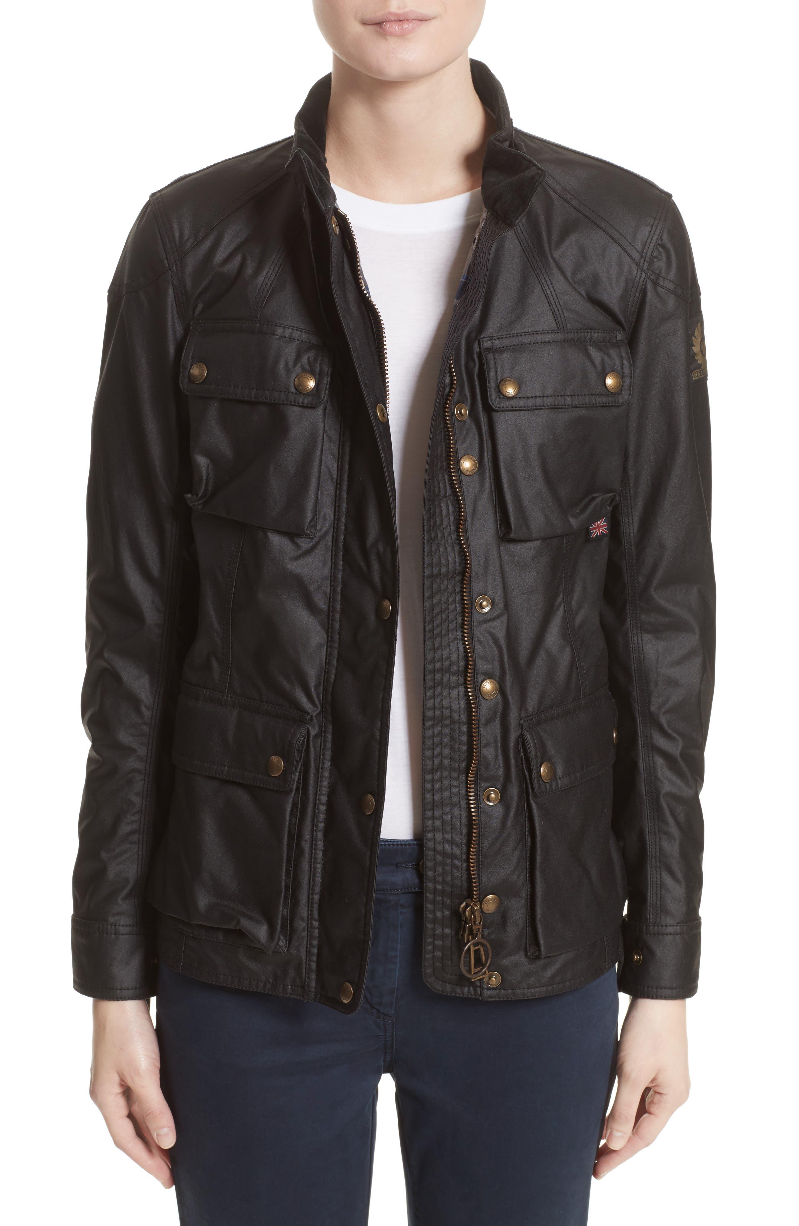 Belstaff 'Roadmaster' Waxed Cotton Coat