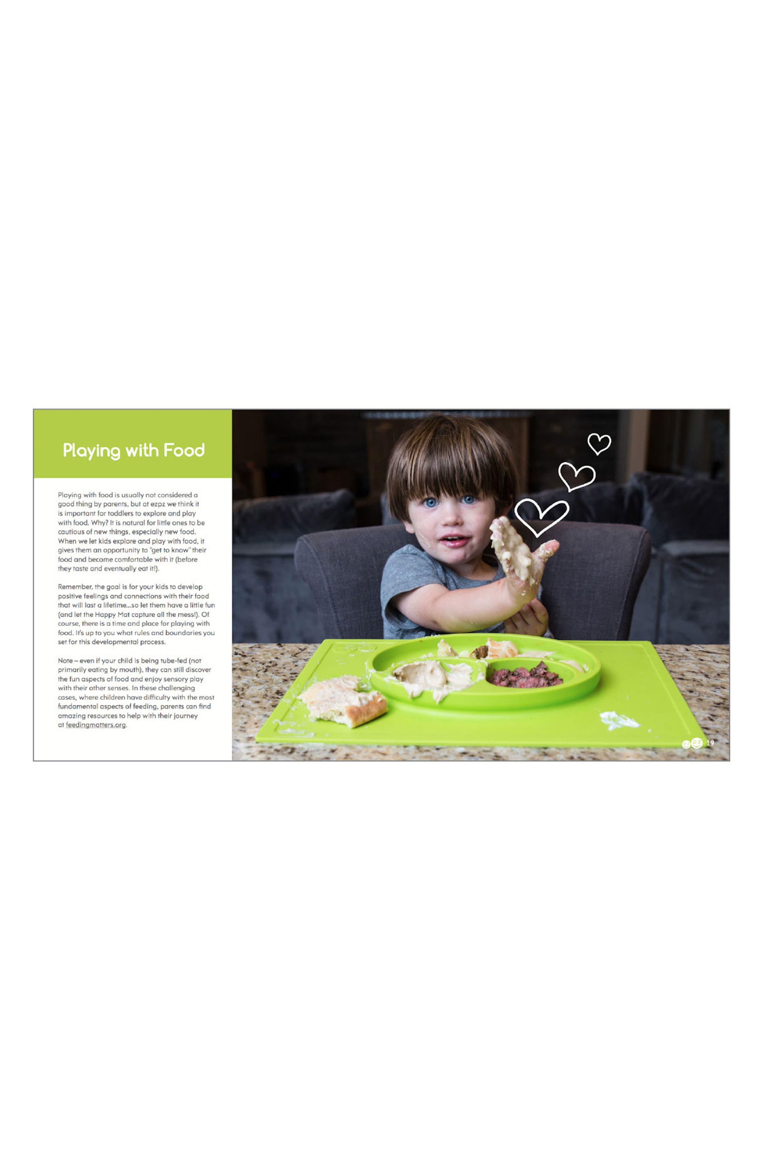 Alternate Image 3  - ezpz Happy Mat Feeding Mat & Hardcover Book Set