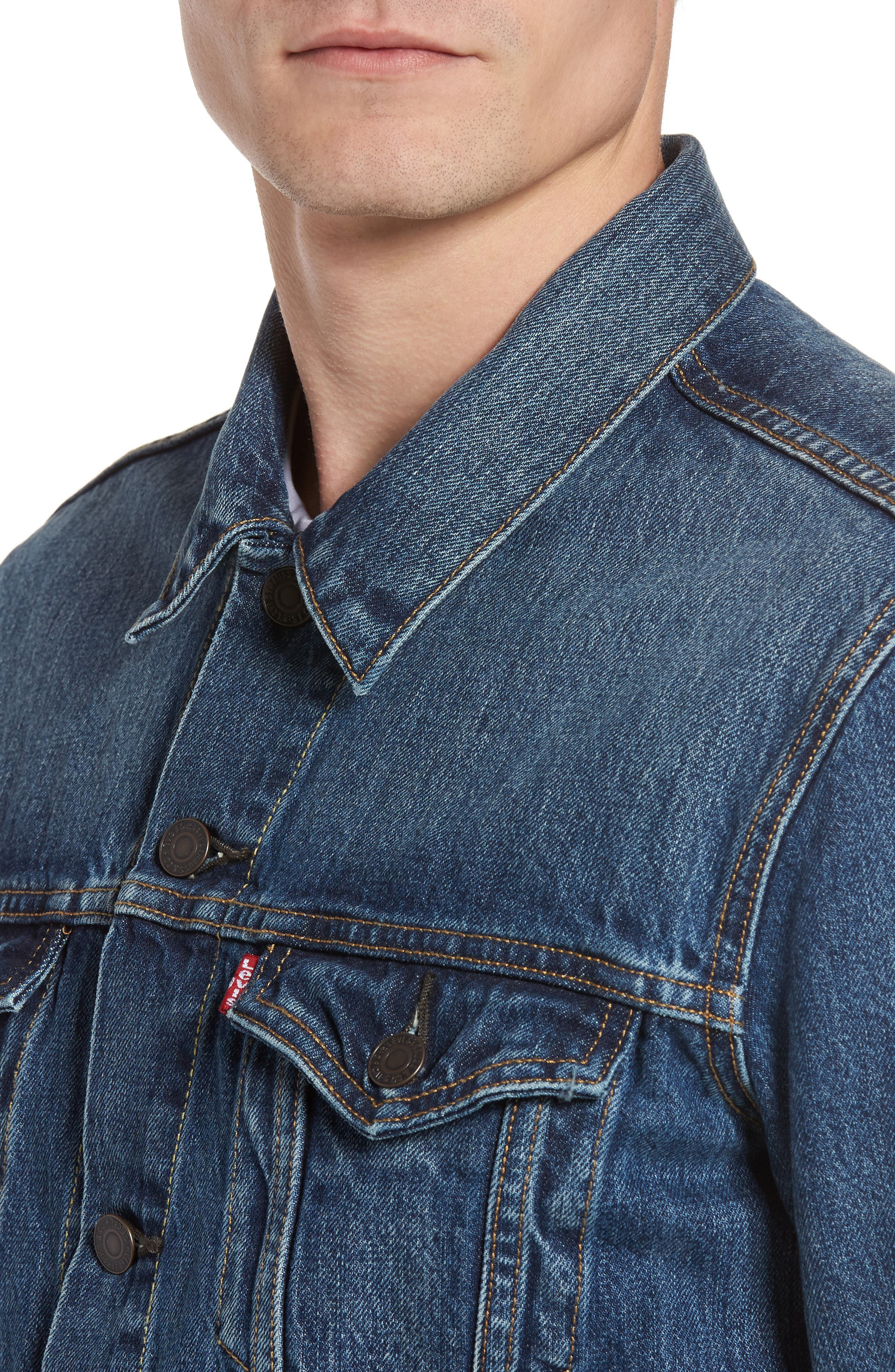 Alternate Image 4  - Levi's® Trucker Denim Jacket