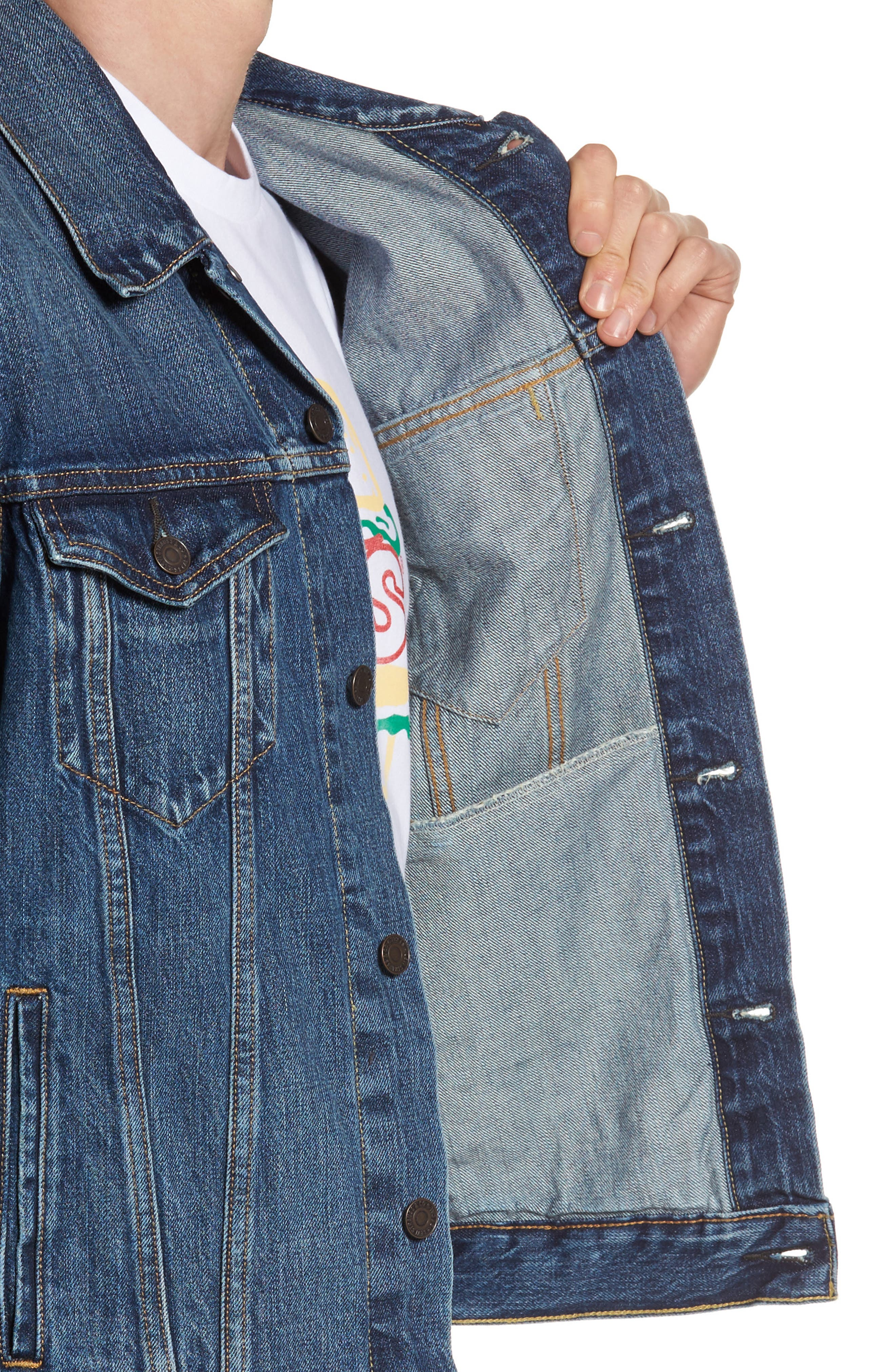 Alternate Image 3  - Levi's® Trucker Denim Jacket