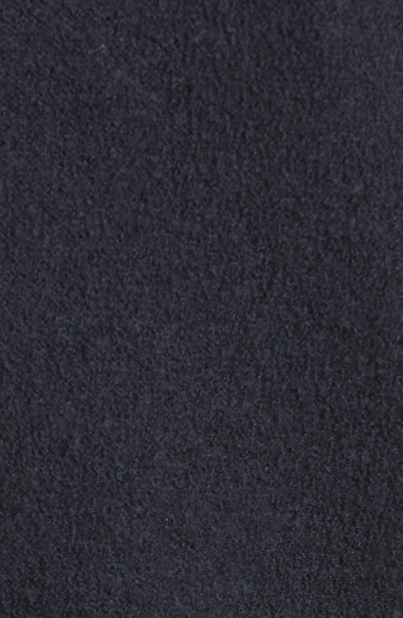 Armani Jeans Single Button Wool Coat,                             Alternate thumbnail 5, color,                             Navy