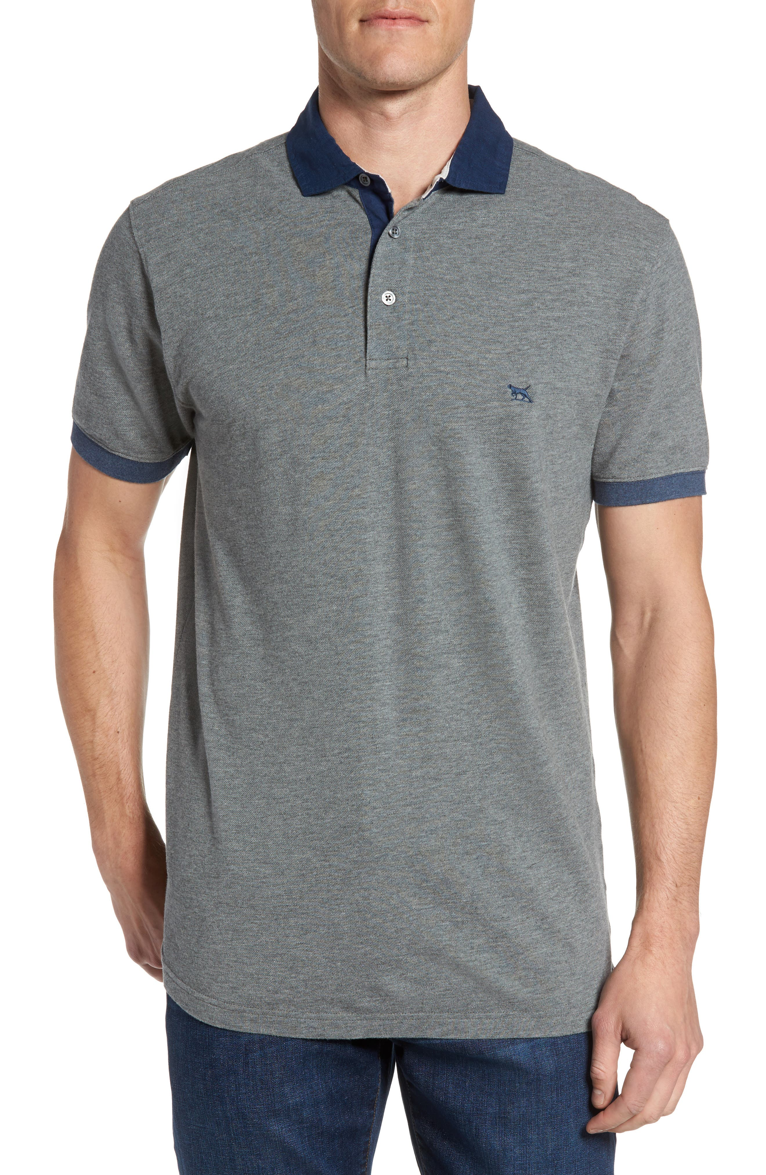 Alternate Image 1 Selected - Rodd & Gunn West Dome Contrast Trim Polo
