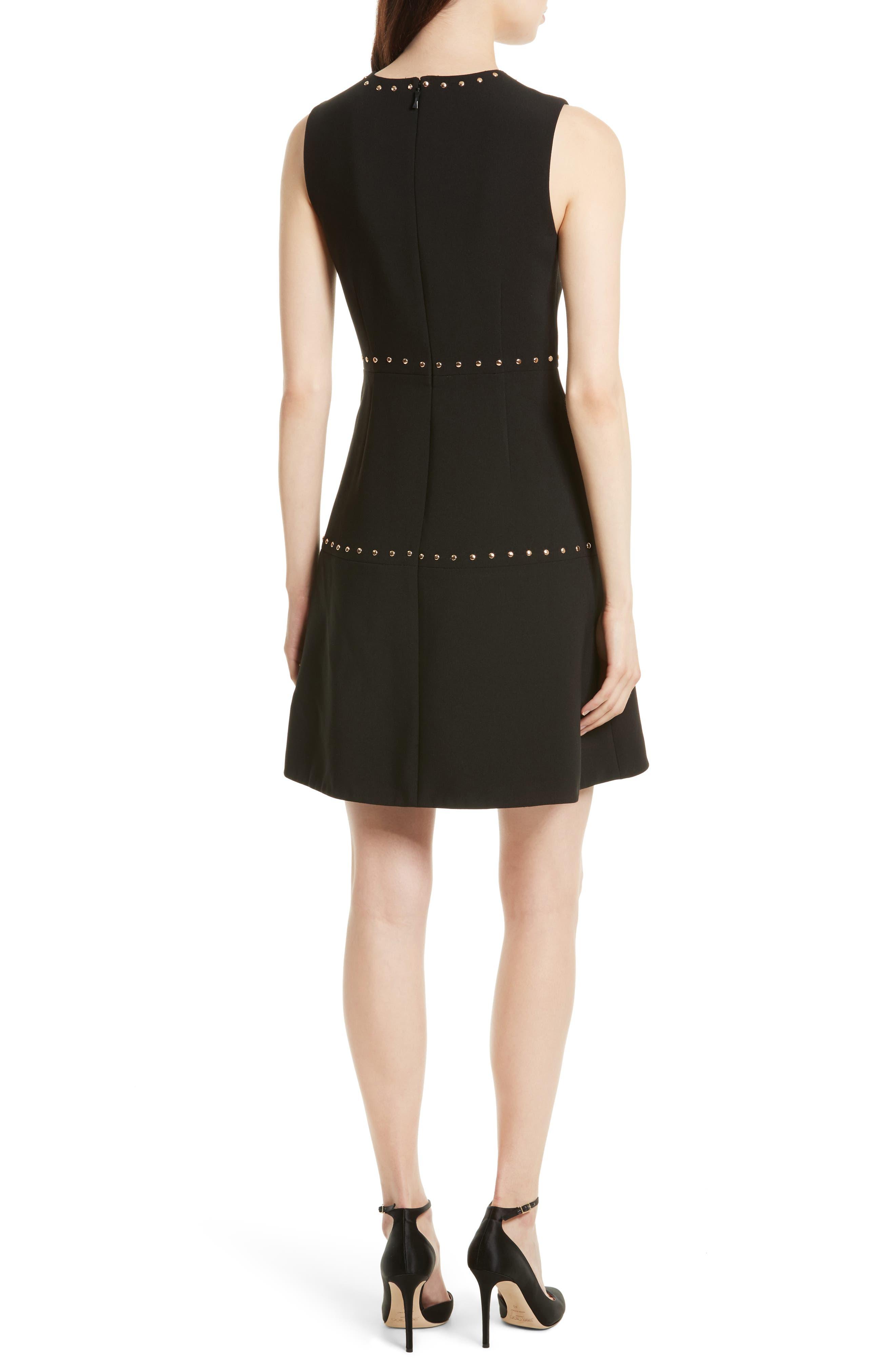 Alternate Image 2  - kate spade new york studded a-line crepe dress