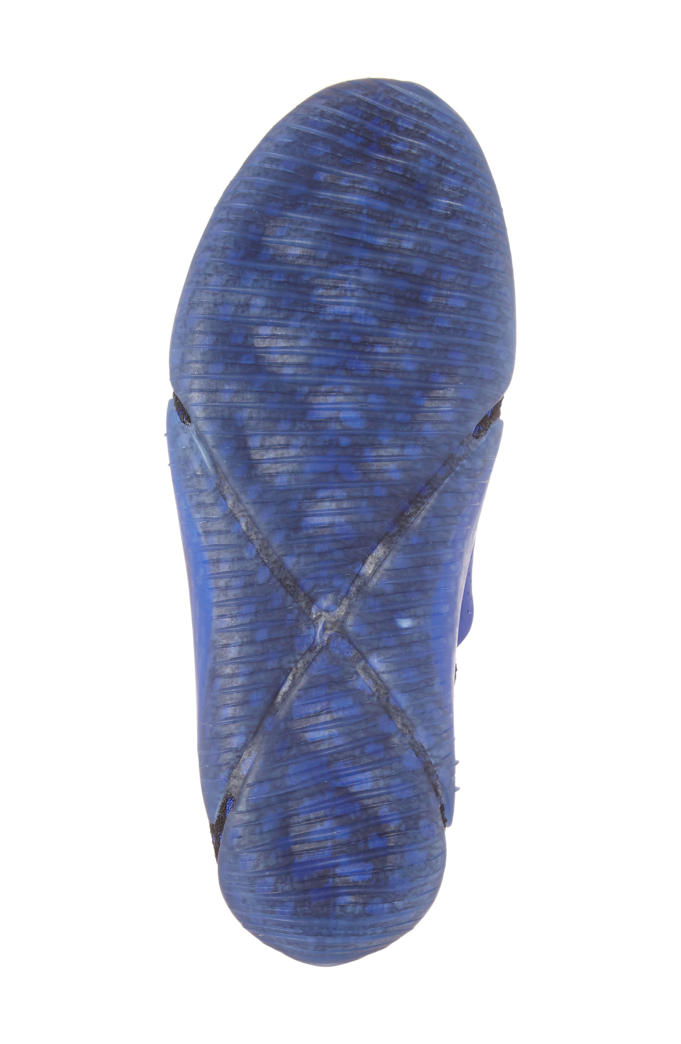 City Knife 3 Flyknit Sneaker,                             Alternate thumbnail 6, color,                             Racer Blue/ Black/ Black