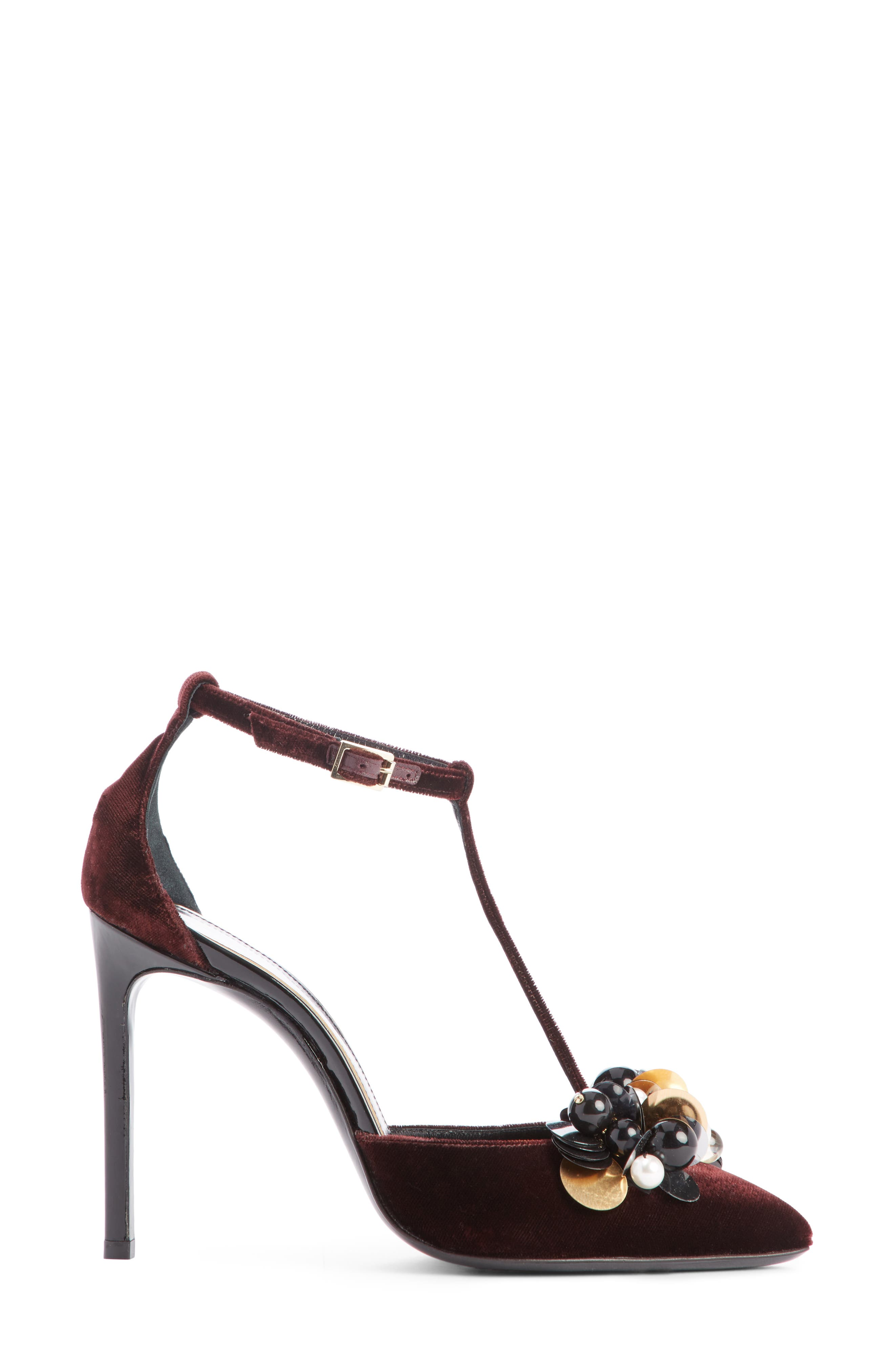 Alternate Image 4  - Lanvin Pearl T-Strap Pump (Women)
