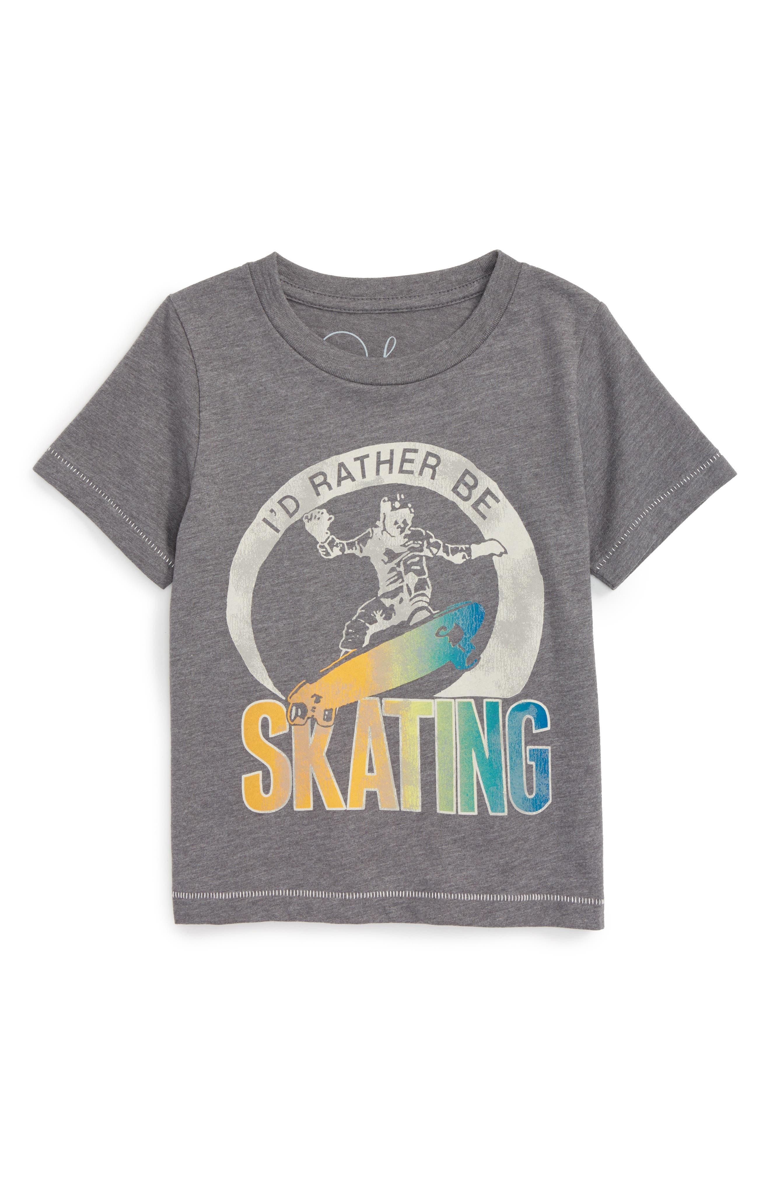 Peek I'd Rather Be Skating T-Shirt (Toddler Boys, Little Boys & Big Boys)