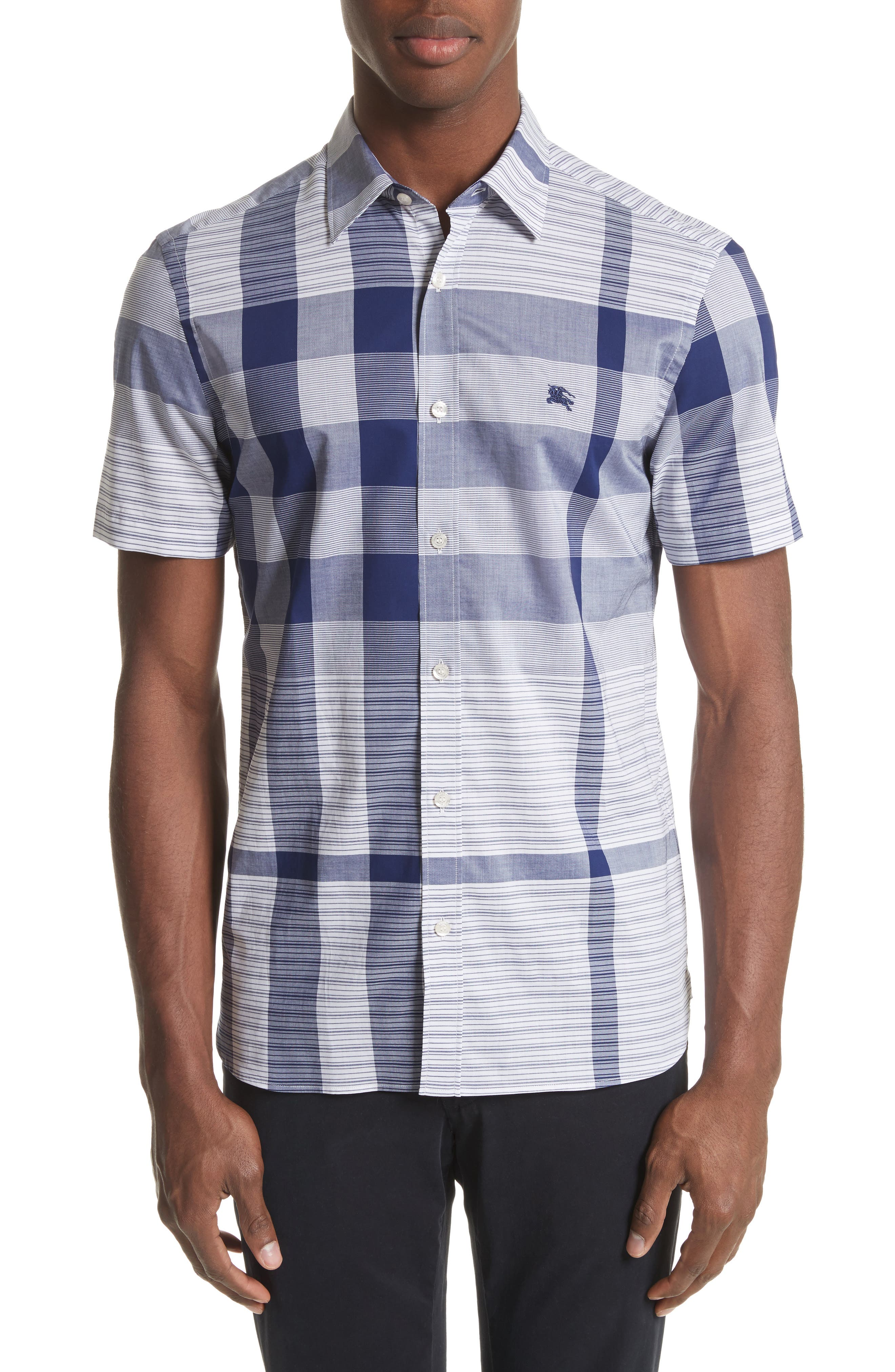 Burberry Ancroft Check Sport Shirt