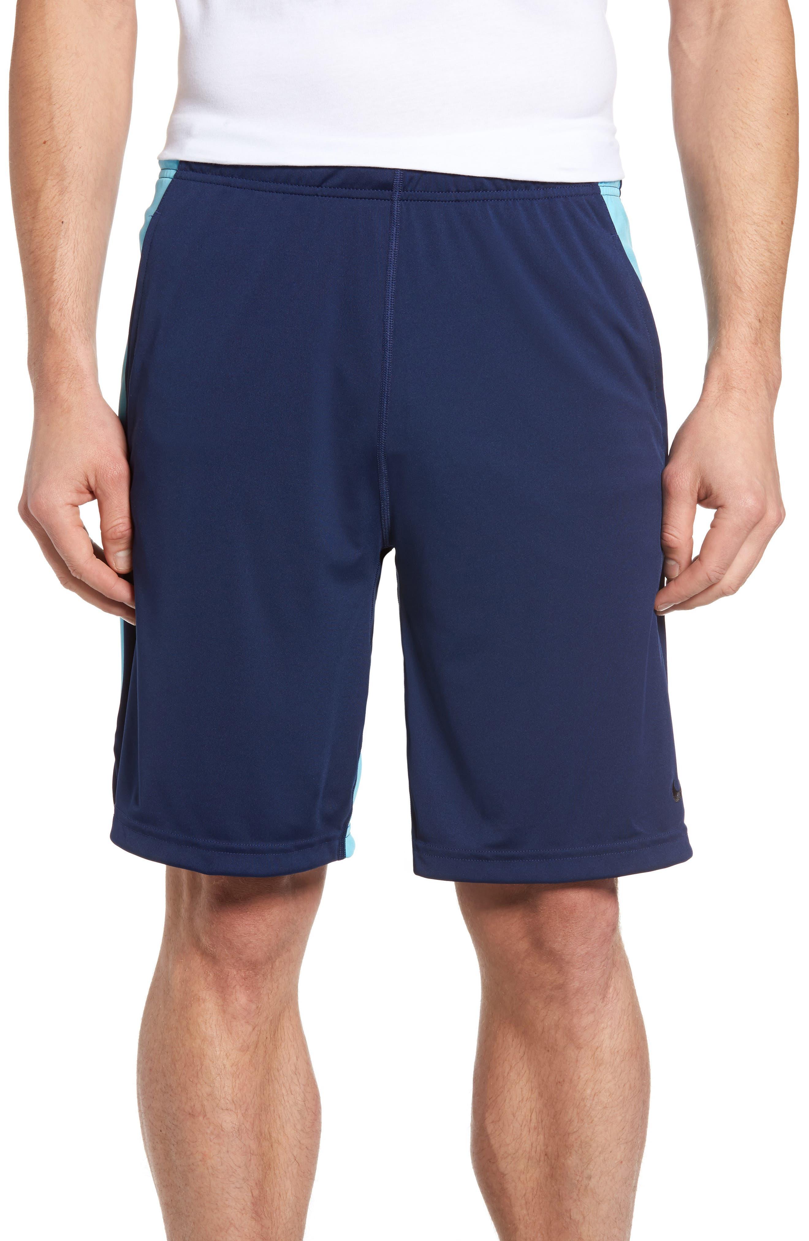 'Fly' Dri-FIT Training Shorts,                         Main,                         color, Binary Blue/ Vivid Sky