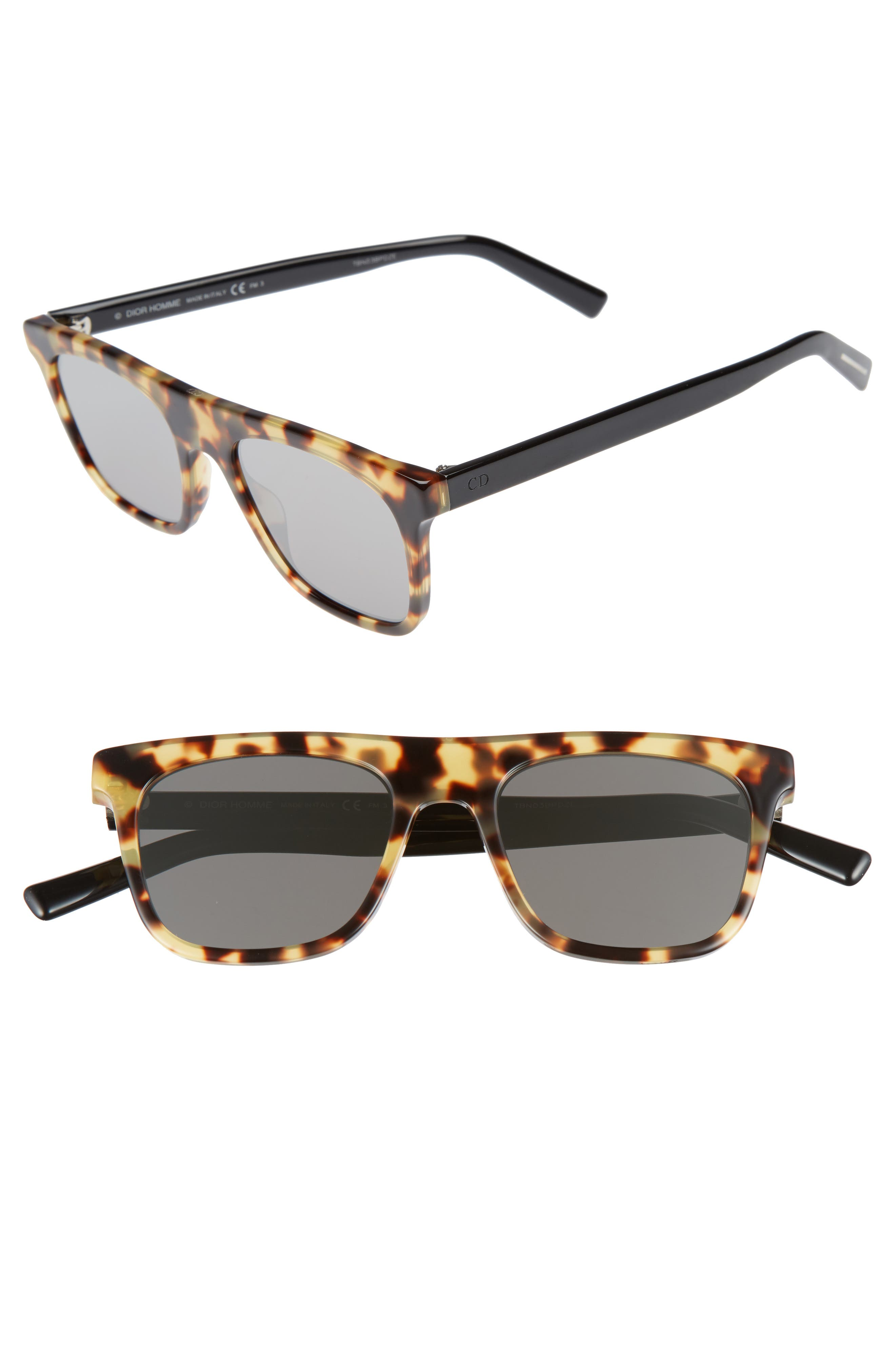 Walk 51mm Sunglasses,                         Main,                         color, Havana Black/ Grey