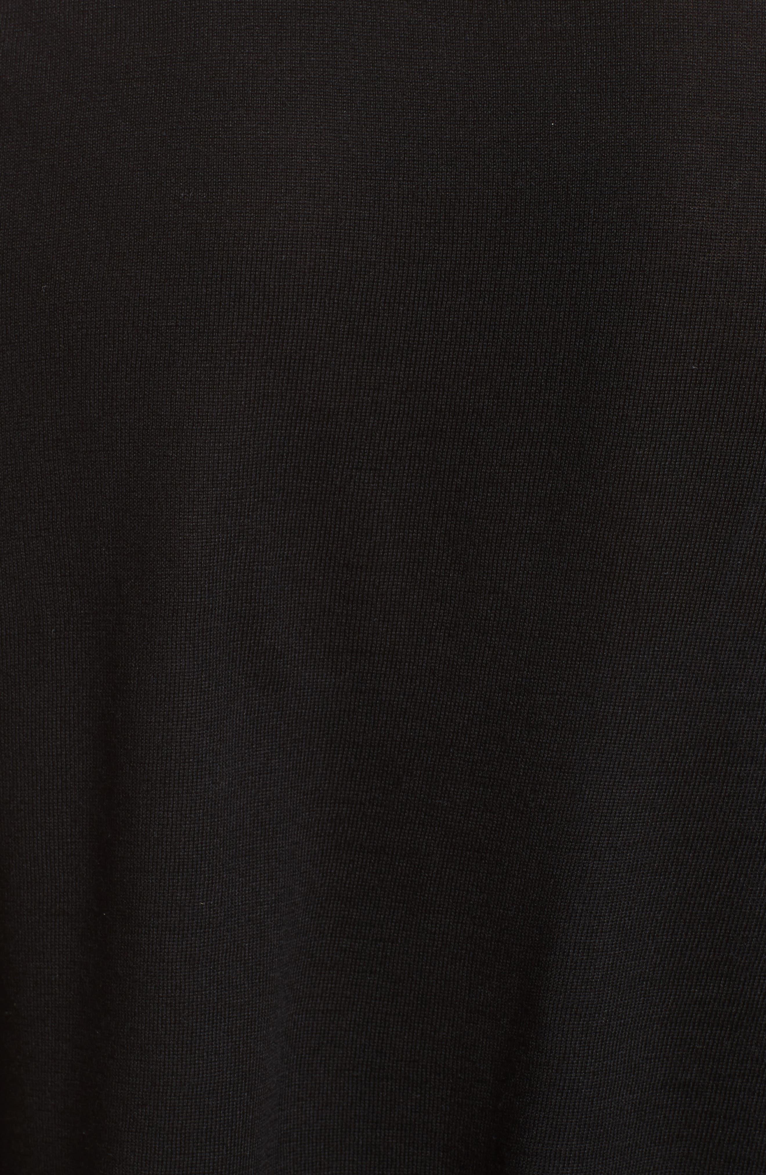 Alternate Image 3  - Burberry Tordino Merino Wool & Silk Waterfall Cardigan