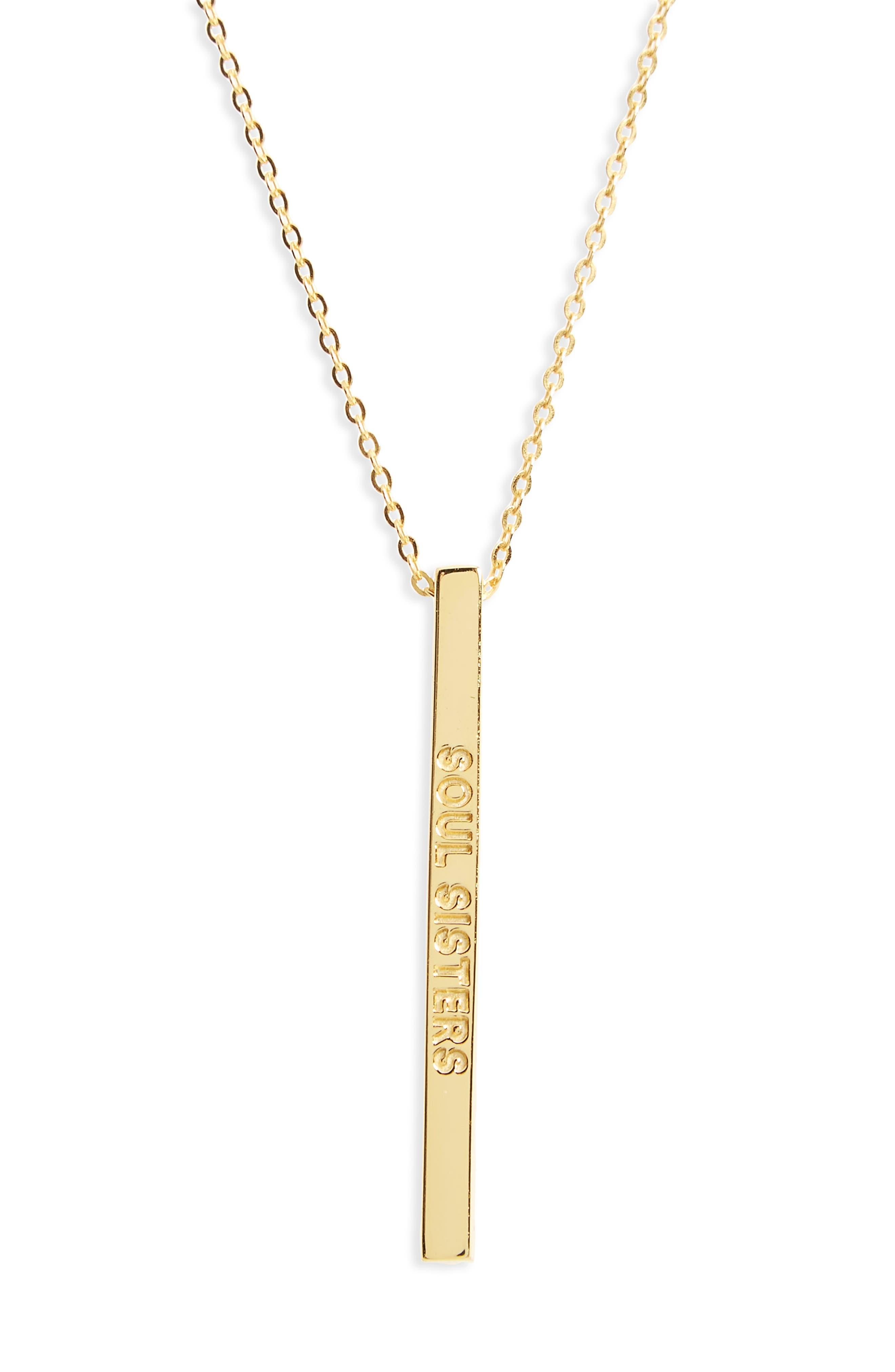 Main Image - MantraBand® Soul Sisters Pendant Necklace