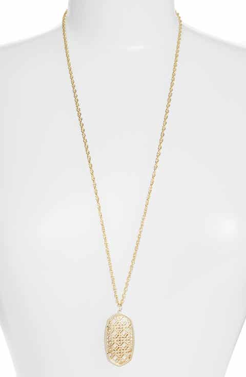 Womens necklaces gold aloadofball Gallery