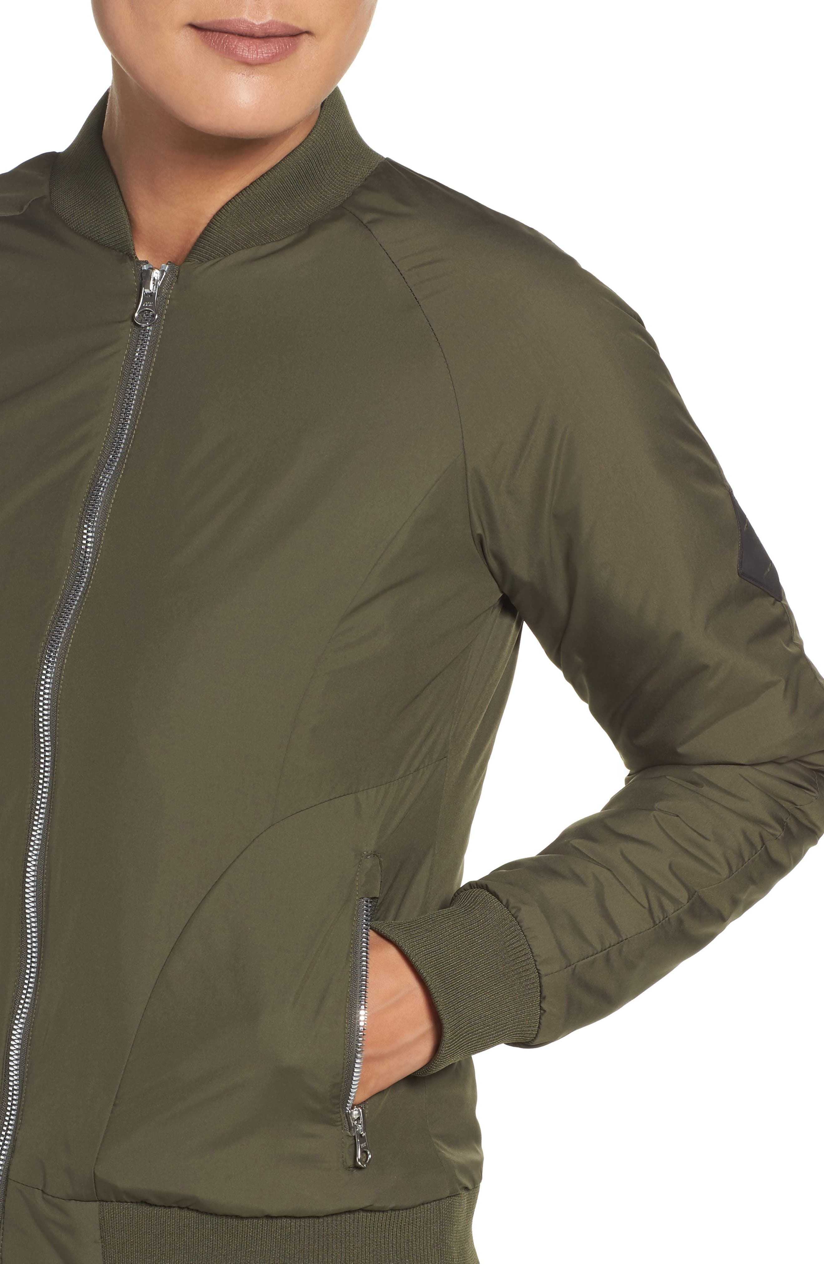 Alternate Image 4  - The North Face 'Rydell' Water Resistant Heatseeker™ Insulated Bomber Jacket