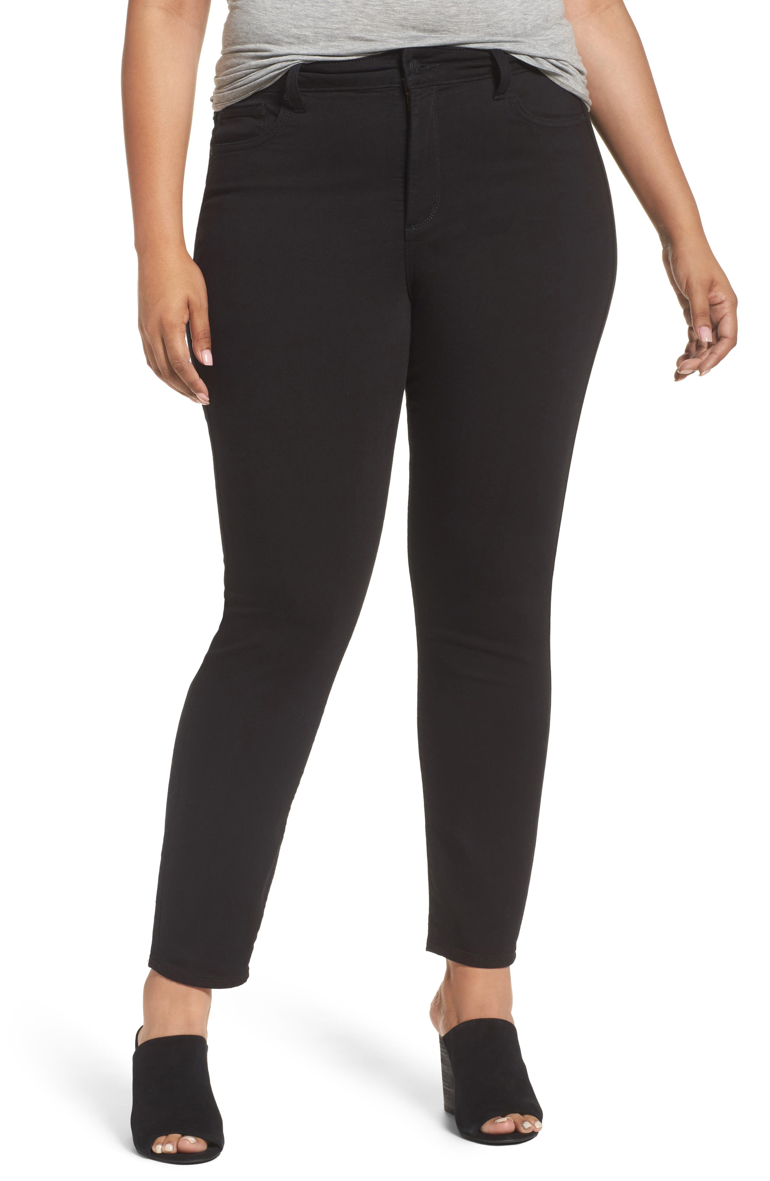 Alternate Image 1 Selected - NYDJ Ami Stretch Skinny Jeans (Plus Size)