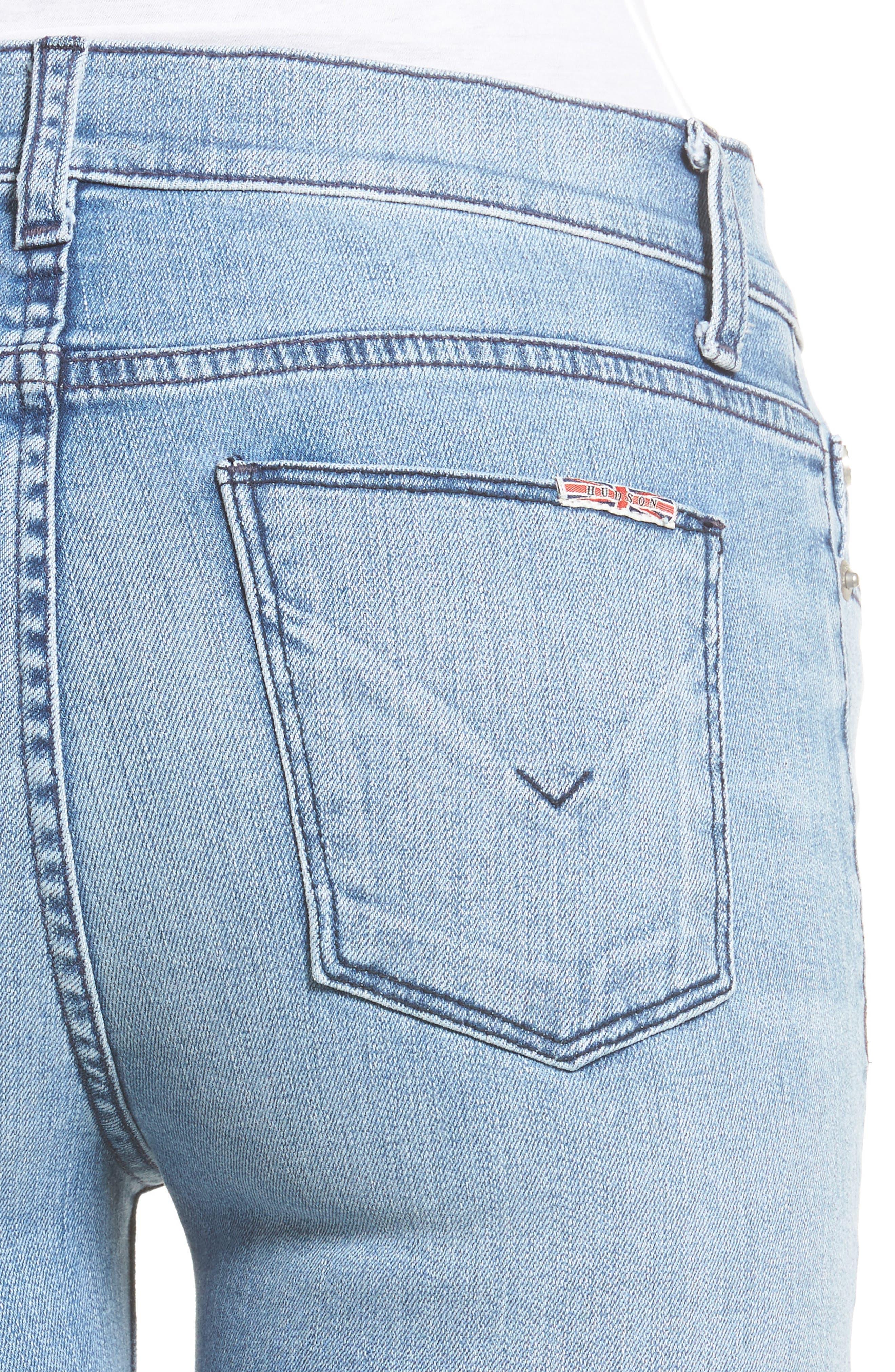 Alternate Image 5  - Hudson Jeans Ciara High Waist Skinny Jeans (Shotgun)