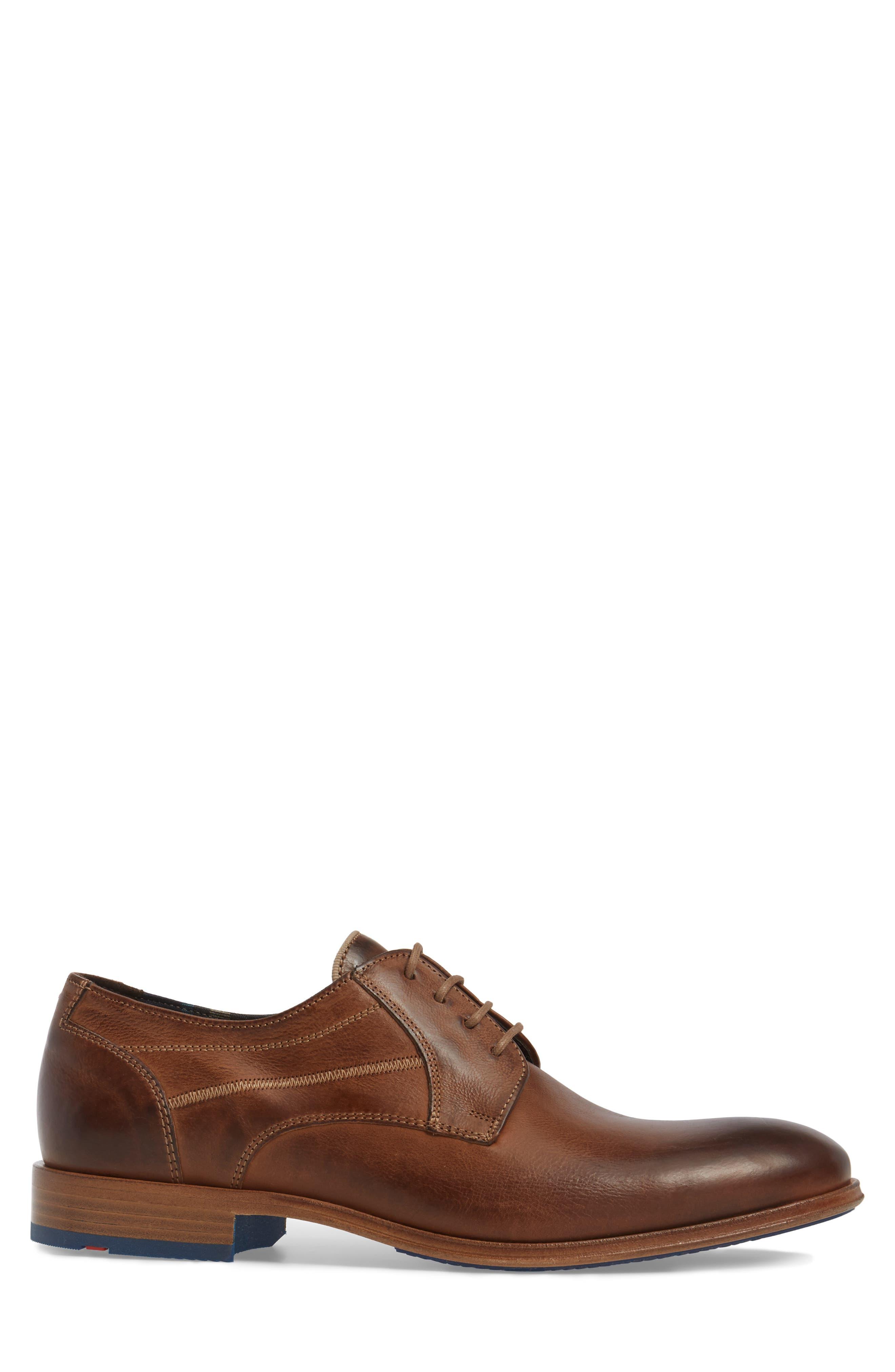 Jessy Plain-Toe Derby,                             Alternate thumbnail 3, color,                             Kenia Leather
