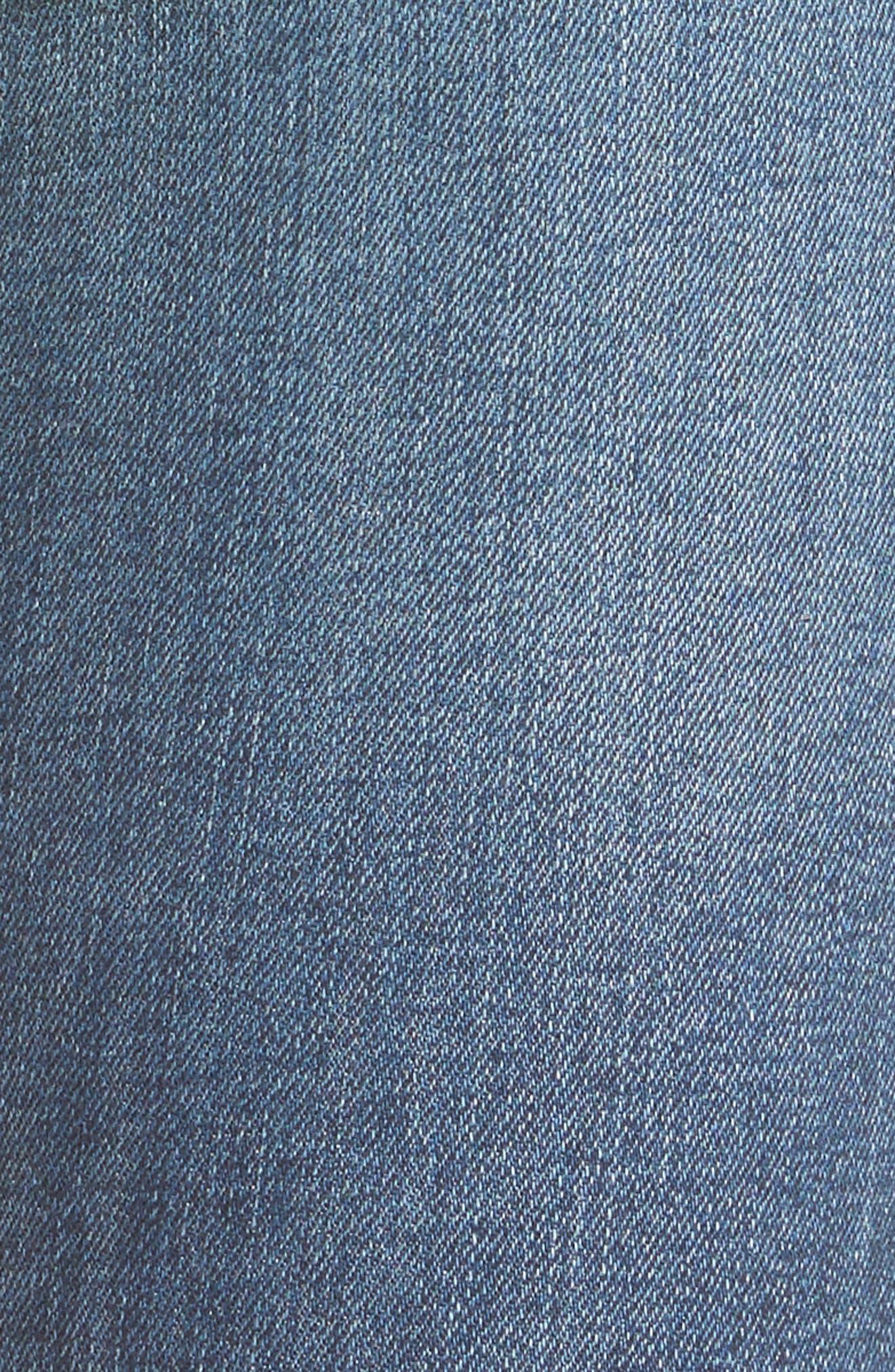 Alternate Image 5  - Hudson Jeans 'Krista' Super Skinny Jeans (Solo)