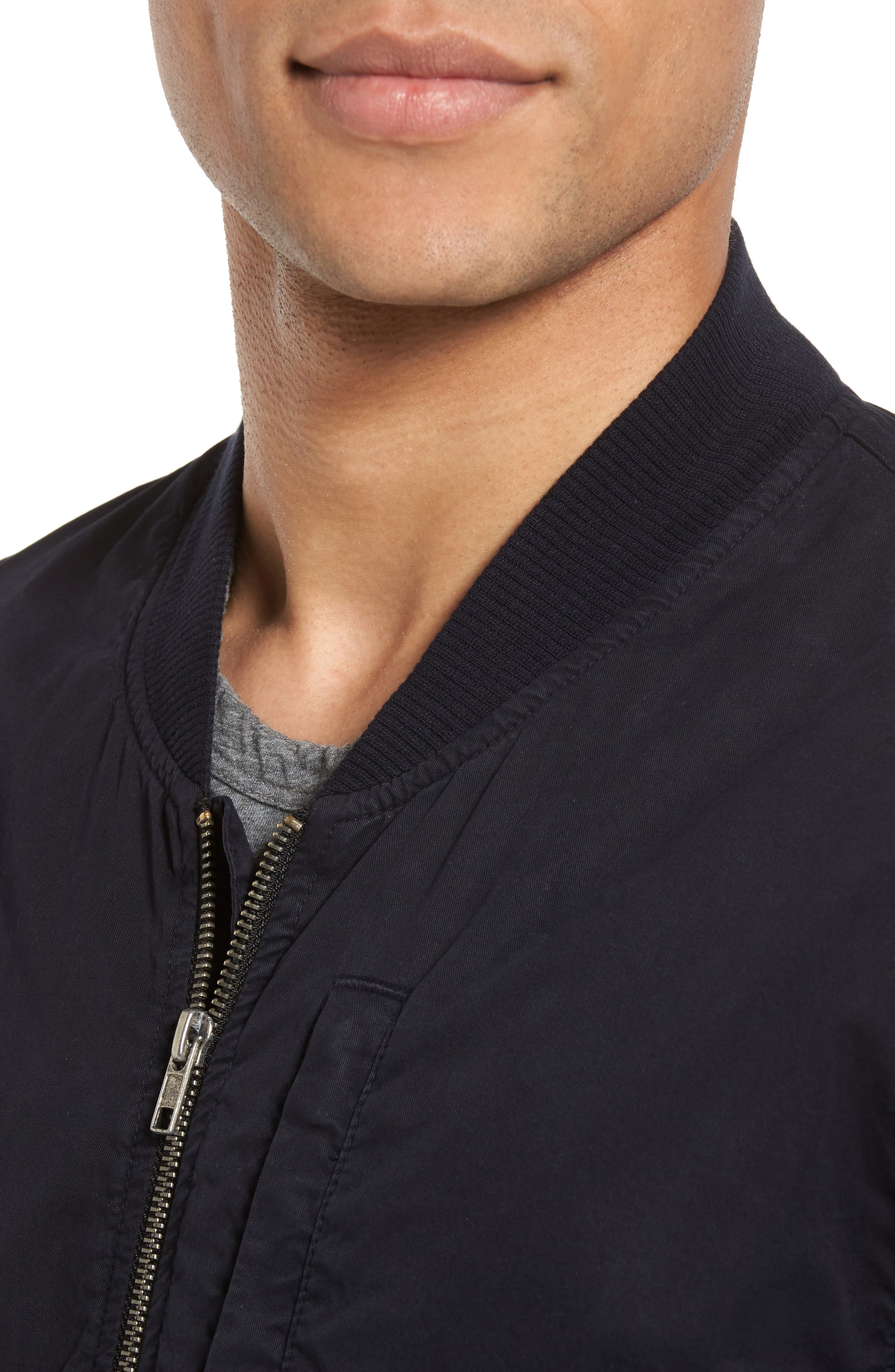 Alternate Image 4  - James Perse Cotton Bomber Jacket