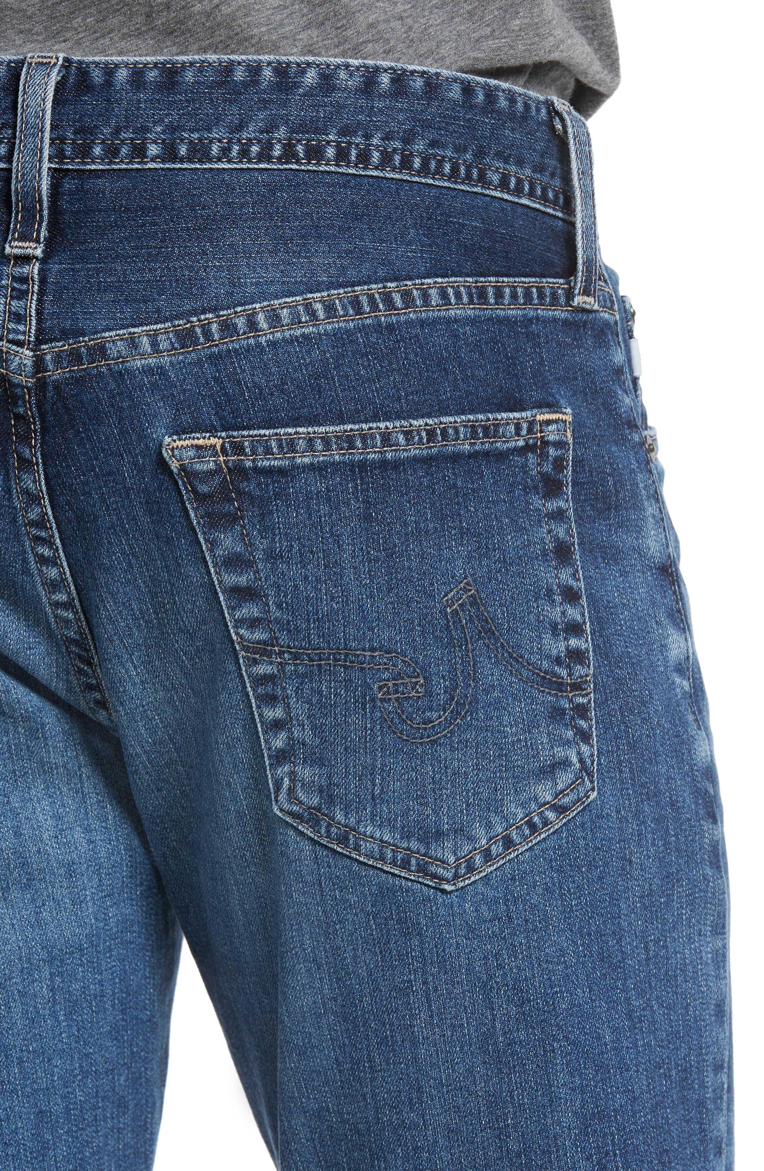Alternate Image 4  - AG Everett Slim Straight Leg Jeans (13 Years Stasis)