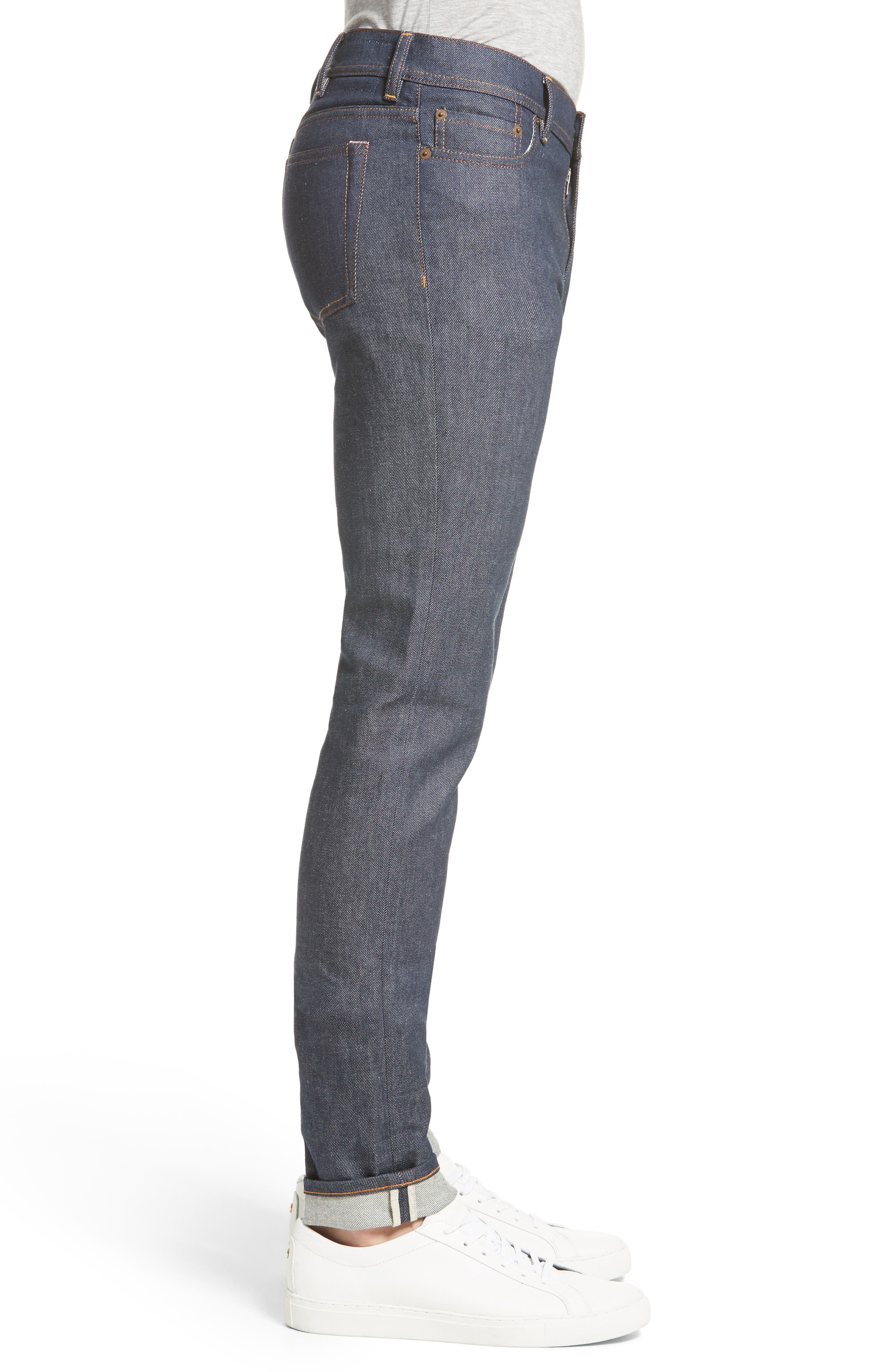 North Skinny Jeans,                             Alternate thumbnail 3, color,                             Indigo