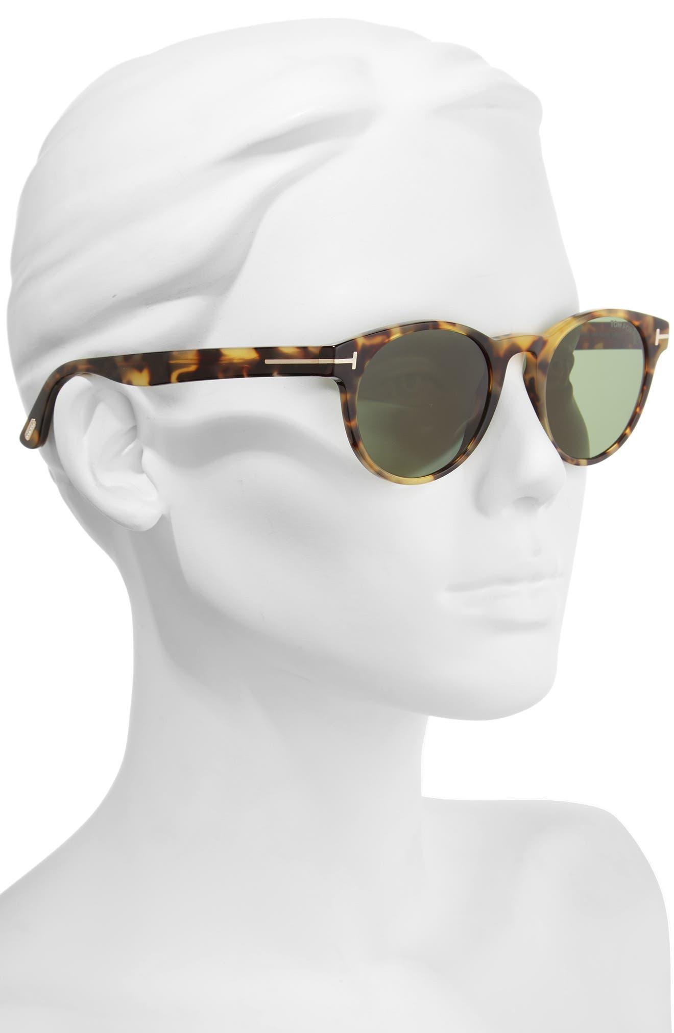 Alternate Image 2  - Tom Ford Palmer 51mm Gradient Lens Sunglasses