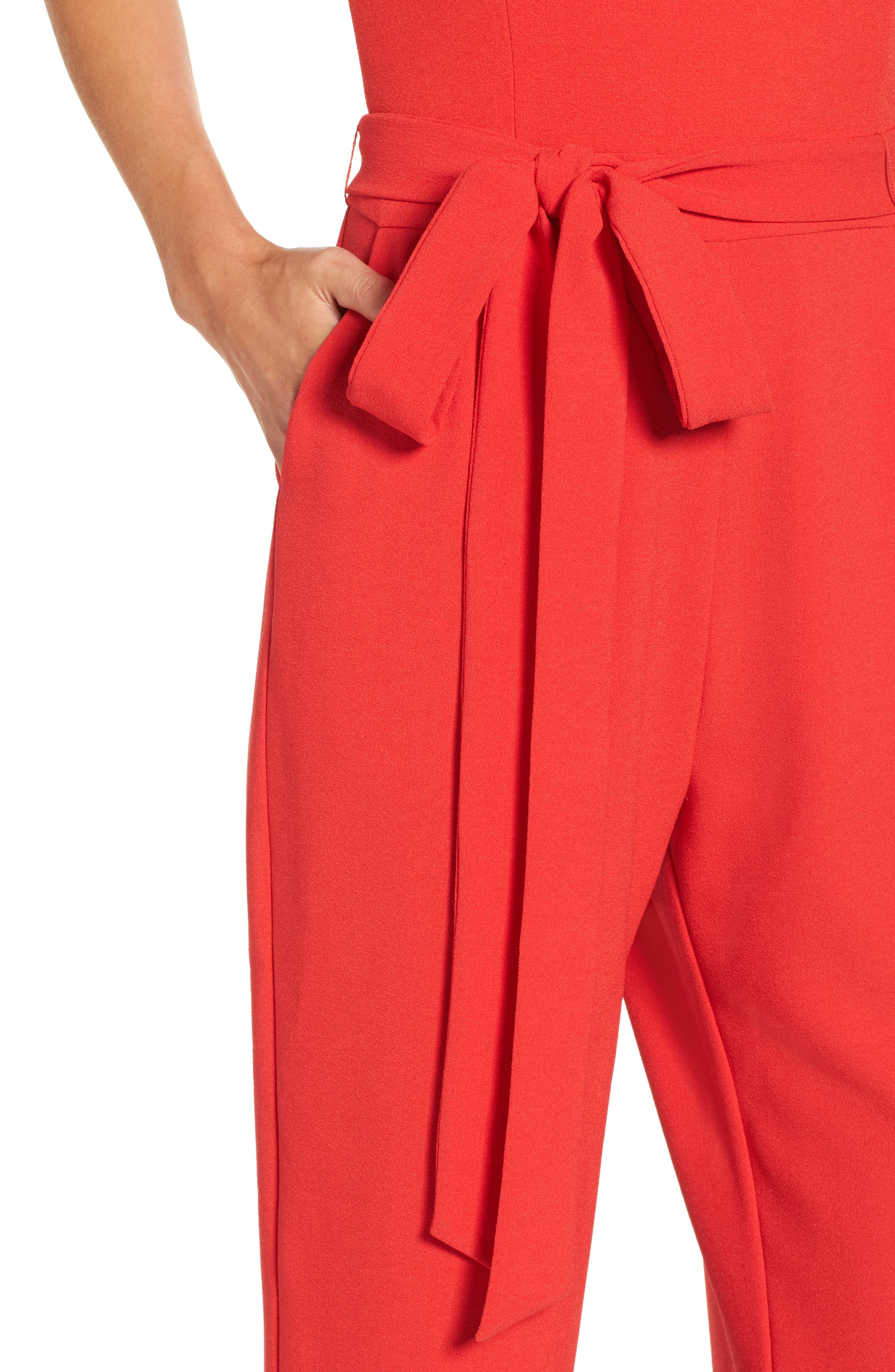 Alternate Image 5  - Vince Camuto Jumpsuit (Regular & Petite)