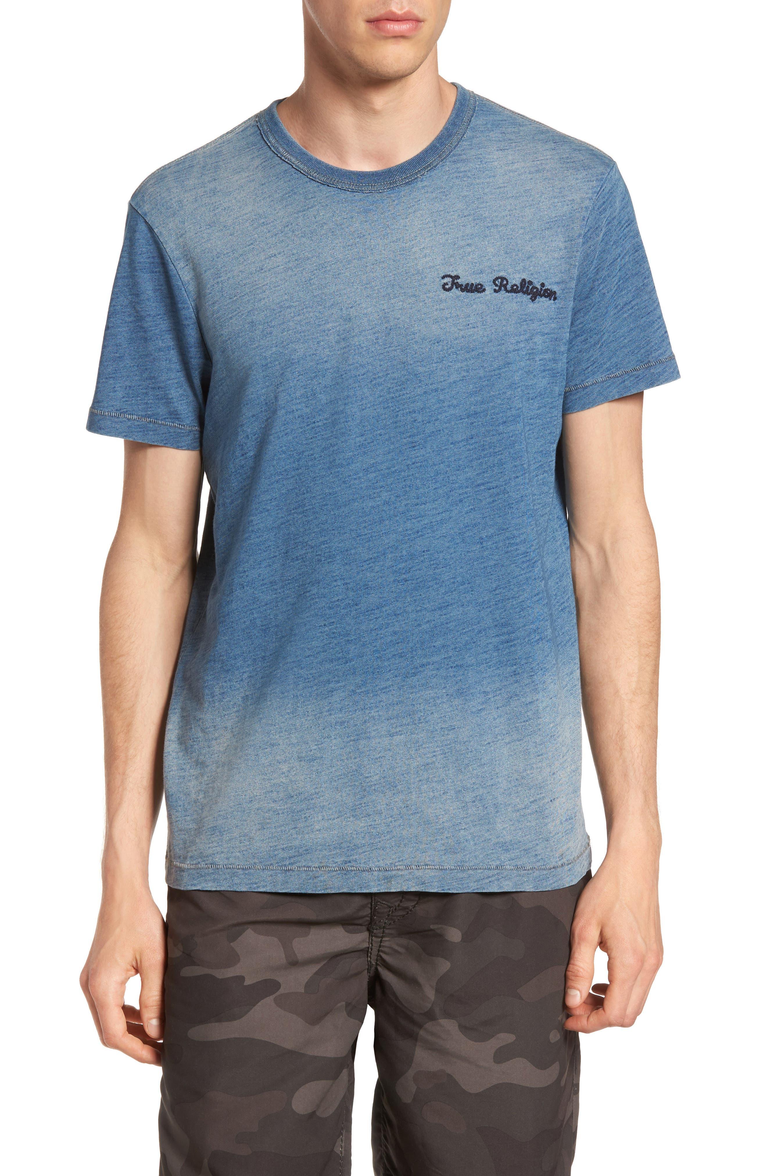 Eagle Shadow T-Shirt,                         Main,                         color, Indigo