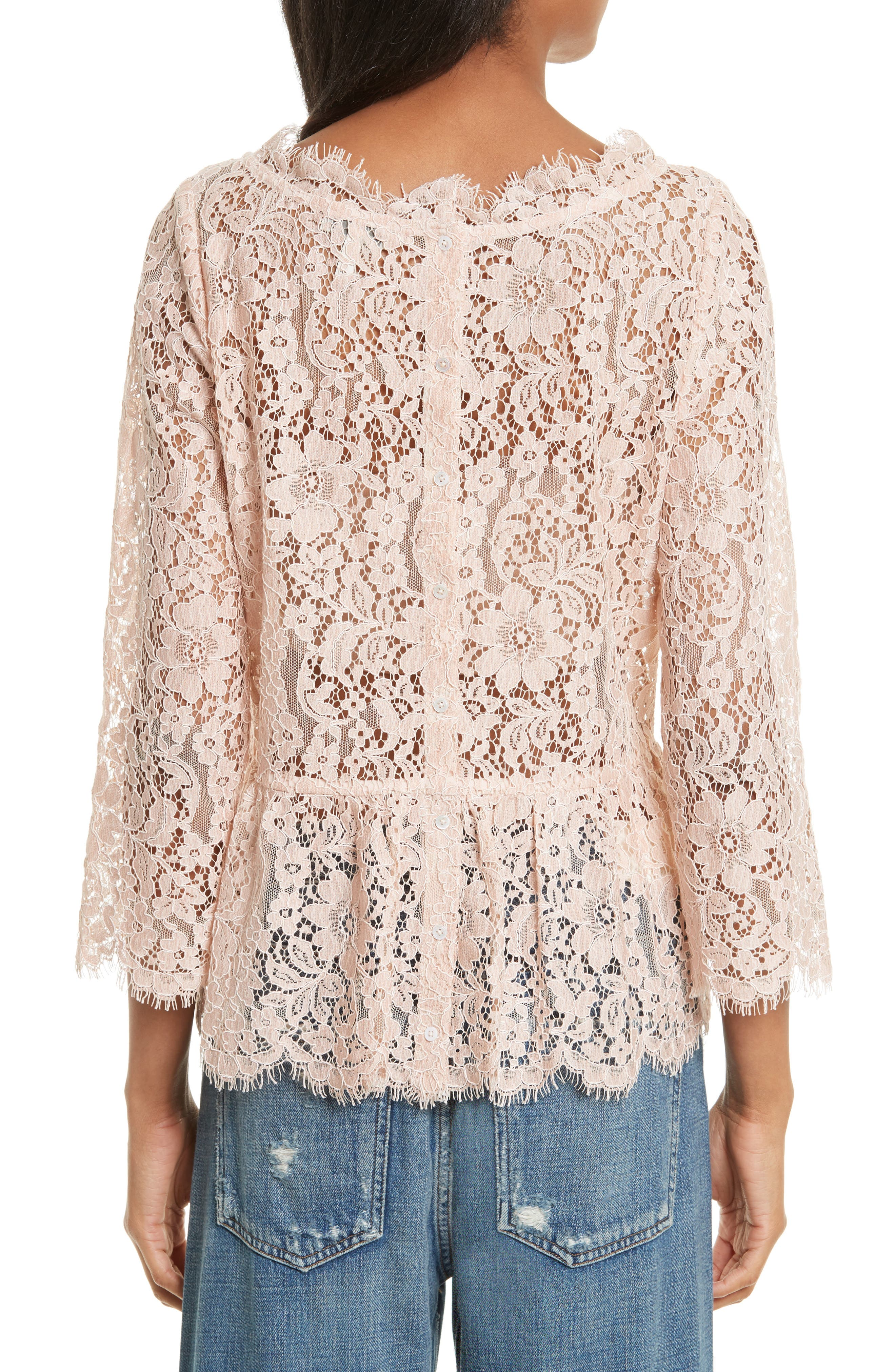 Alternate Image 2  - Joie Koda Lace Top