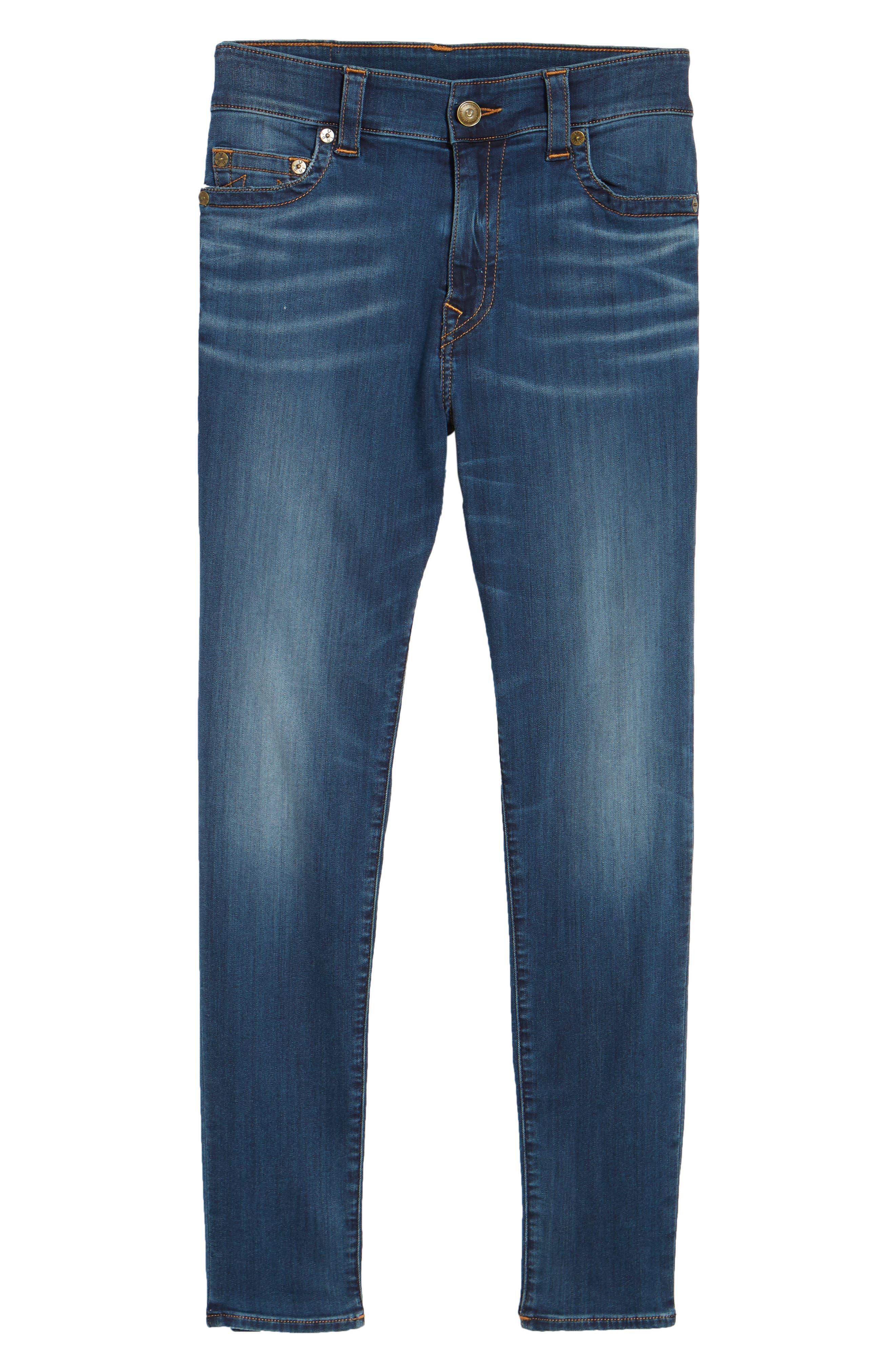 Alternate Image 6  - True Religion Brand Jeans Jack Skinny Fit Jeans (Desert Highway)