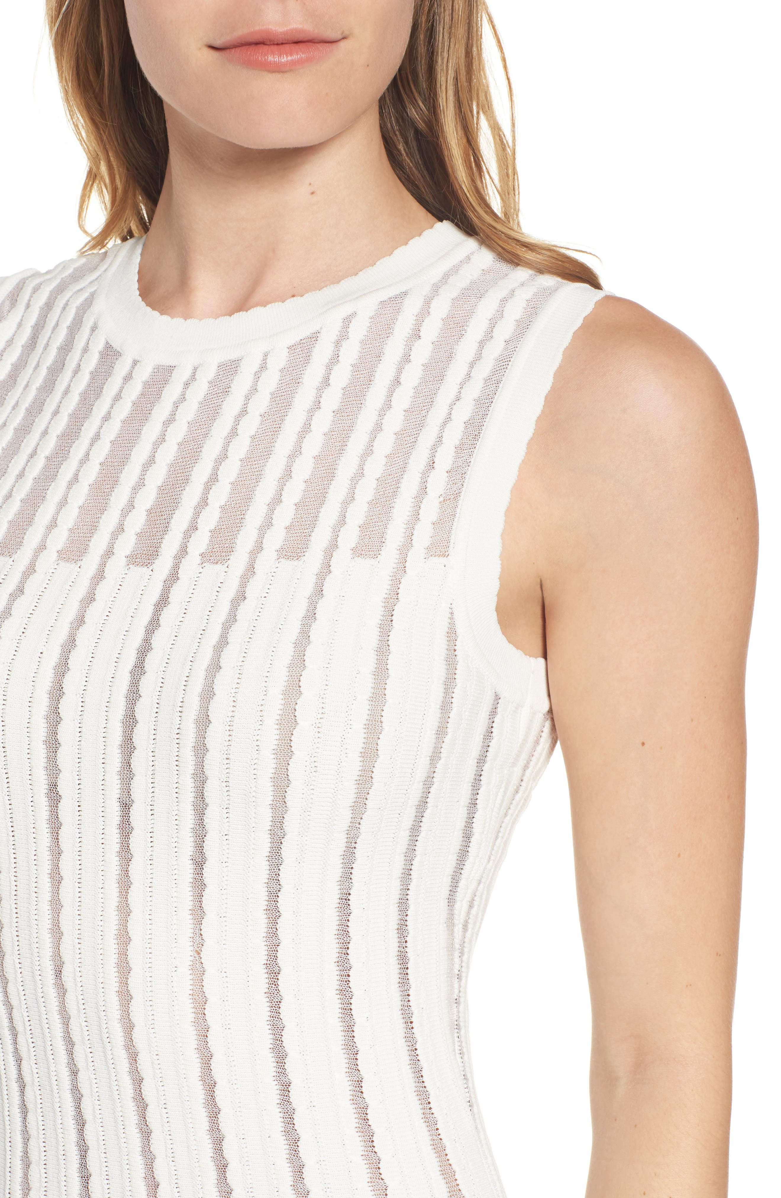 Alternate Image 4  - Anne Klein Knit A-Line Dress