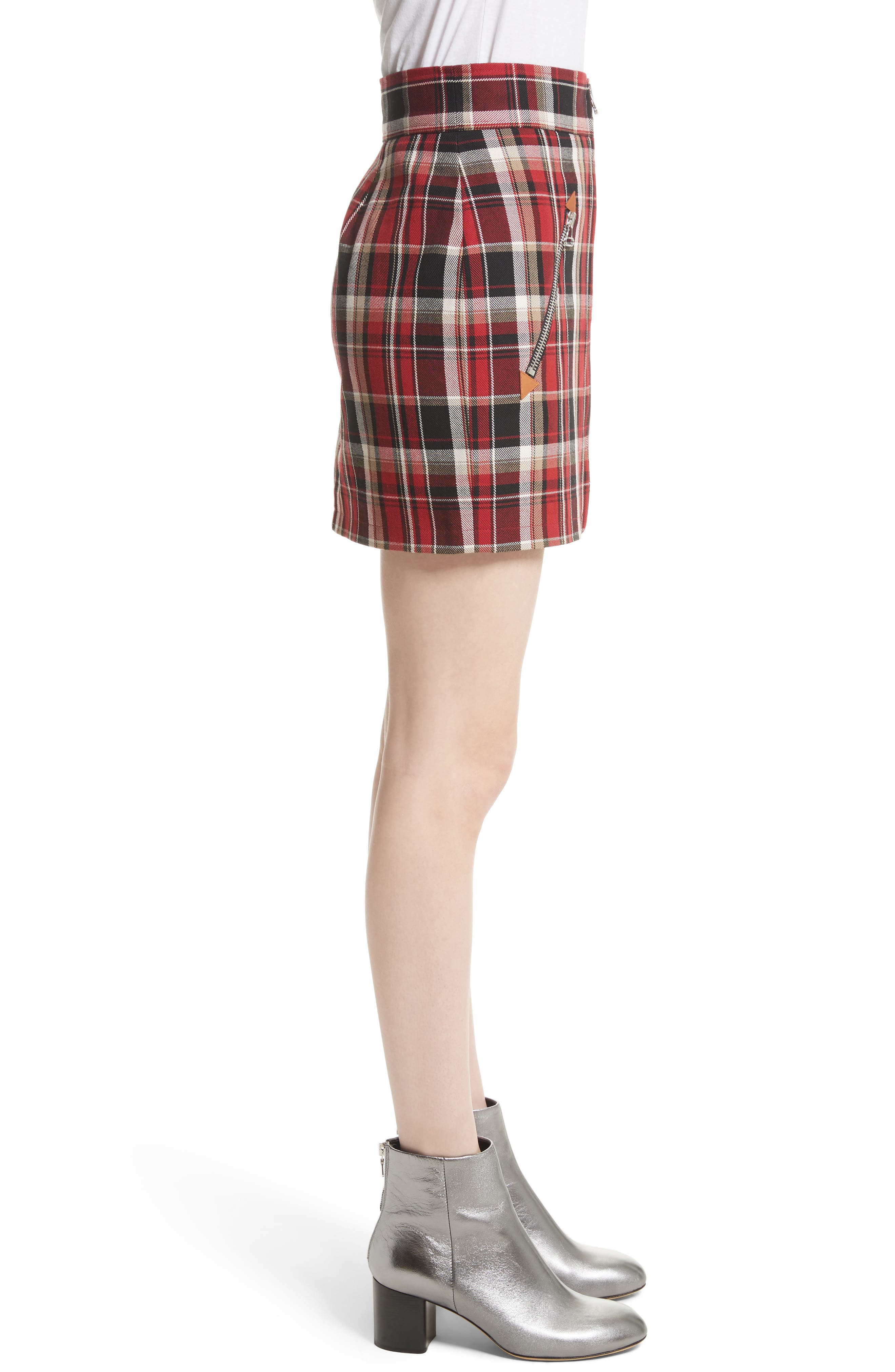 Alternate Image 4  - rag & bone Leah Plaid Skirt