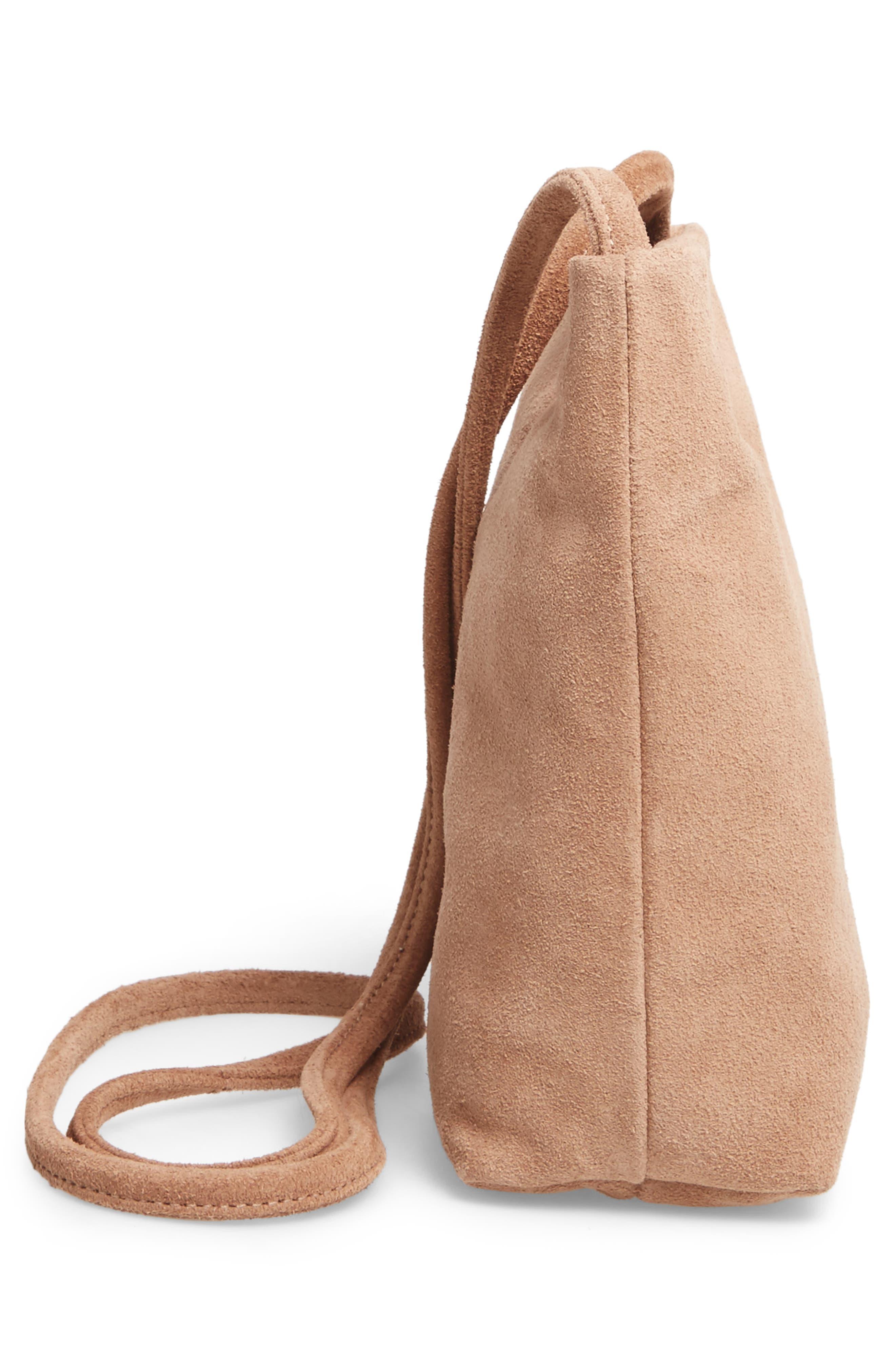 Alternate Image 4  - Baggu Leather Crossbody Bag