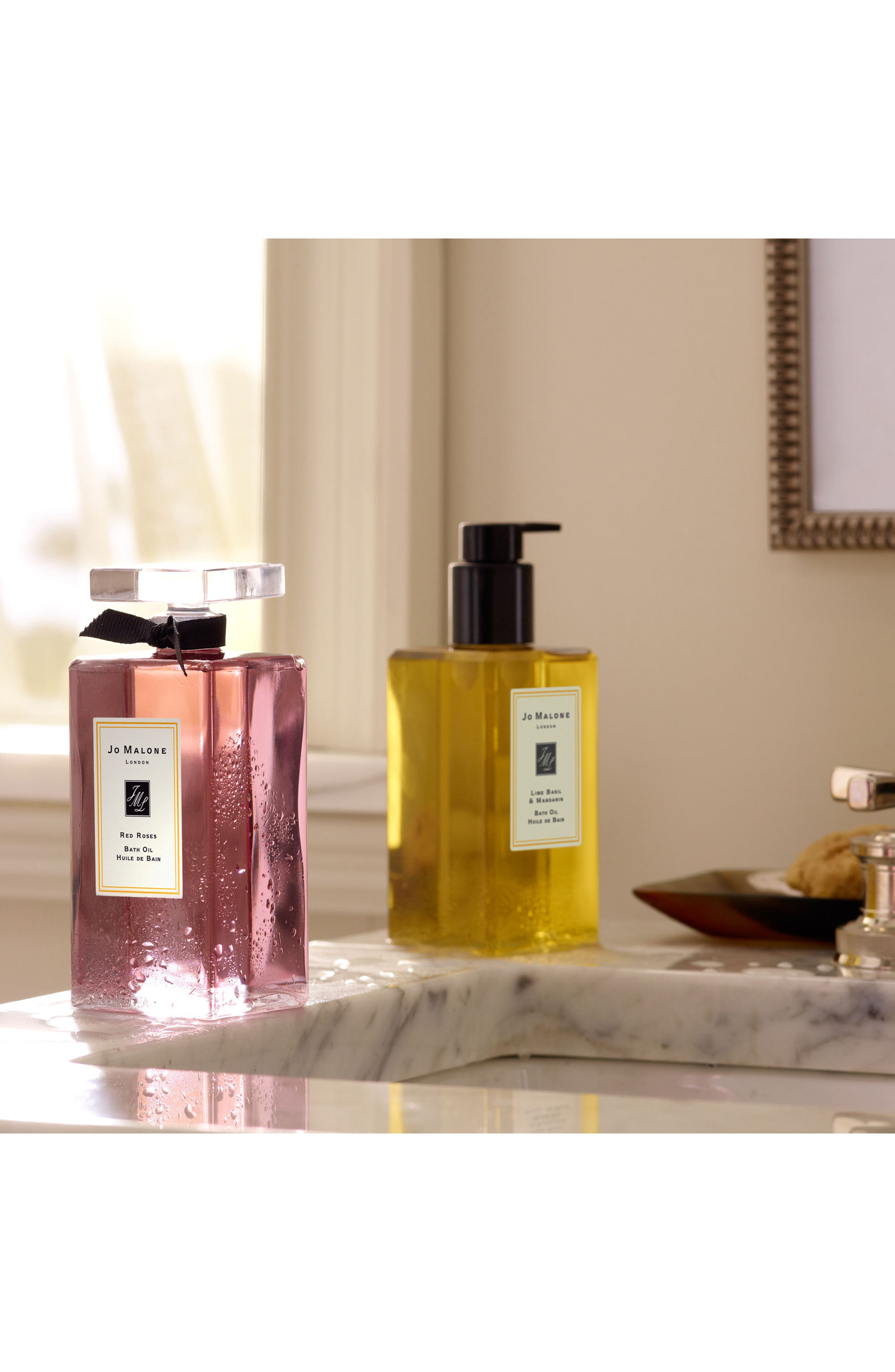 Alternate Image 5  - Jo Malone London™ Lime Basil & Mandarin Bath Oil (8.5 oz.)