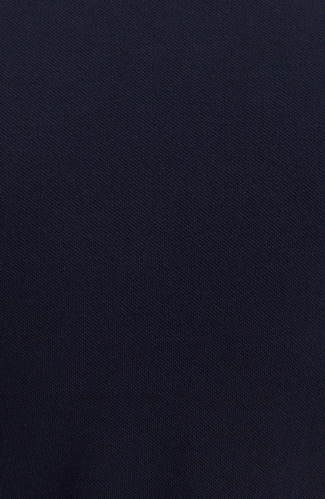 Comme des Garçons PLAY Cotton Piqué Polo,                             Alternate thumbnail 3, color,                             Navy