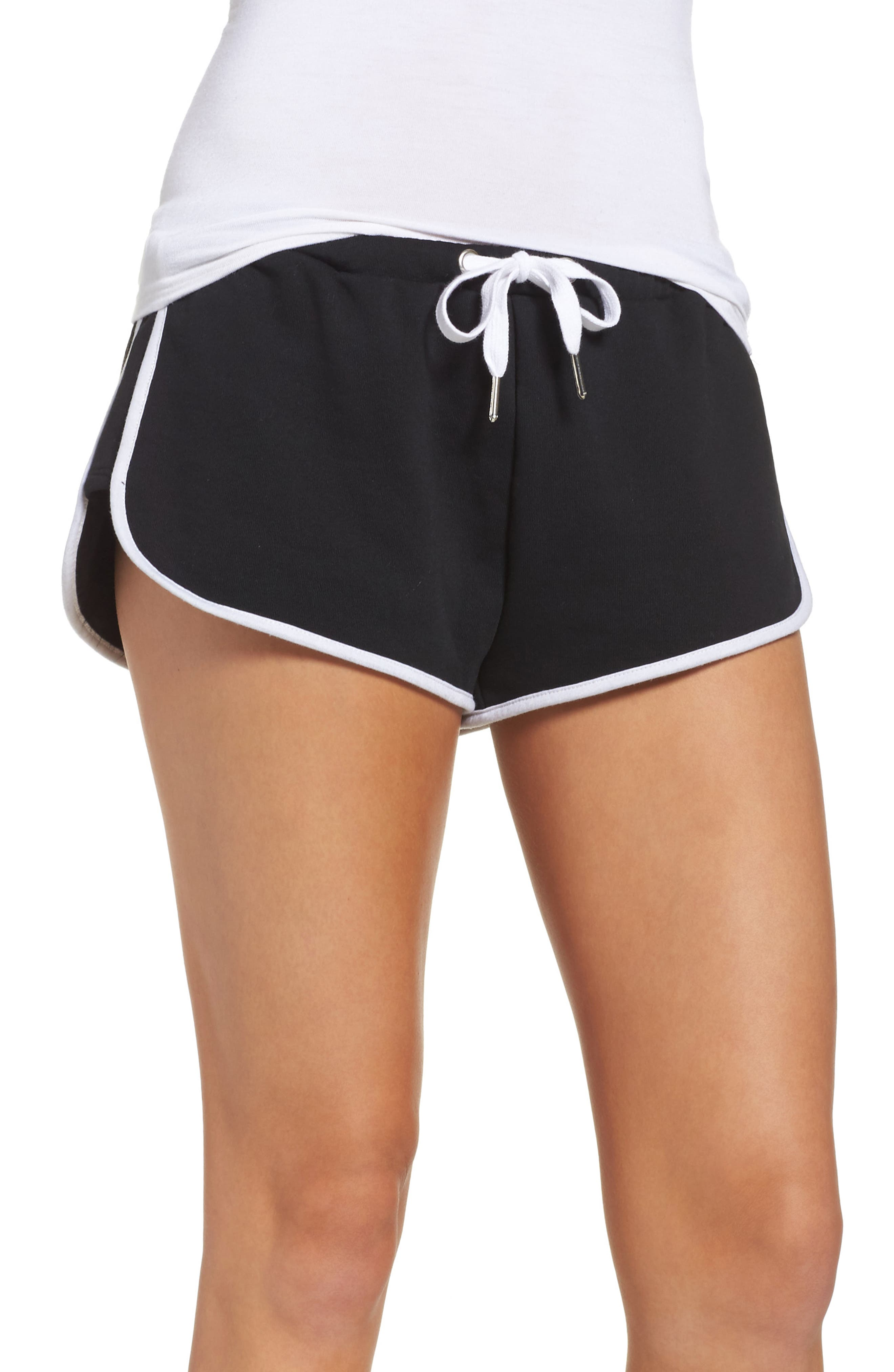 Alternate Image 1 Selected - The Laundry Room Cozy Crew Lounge Shorts