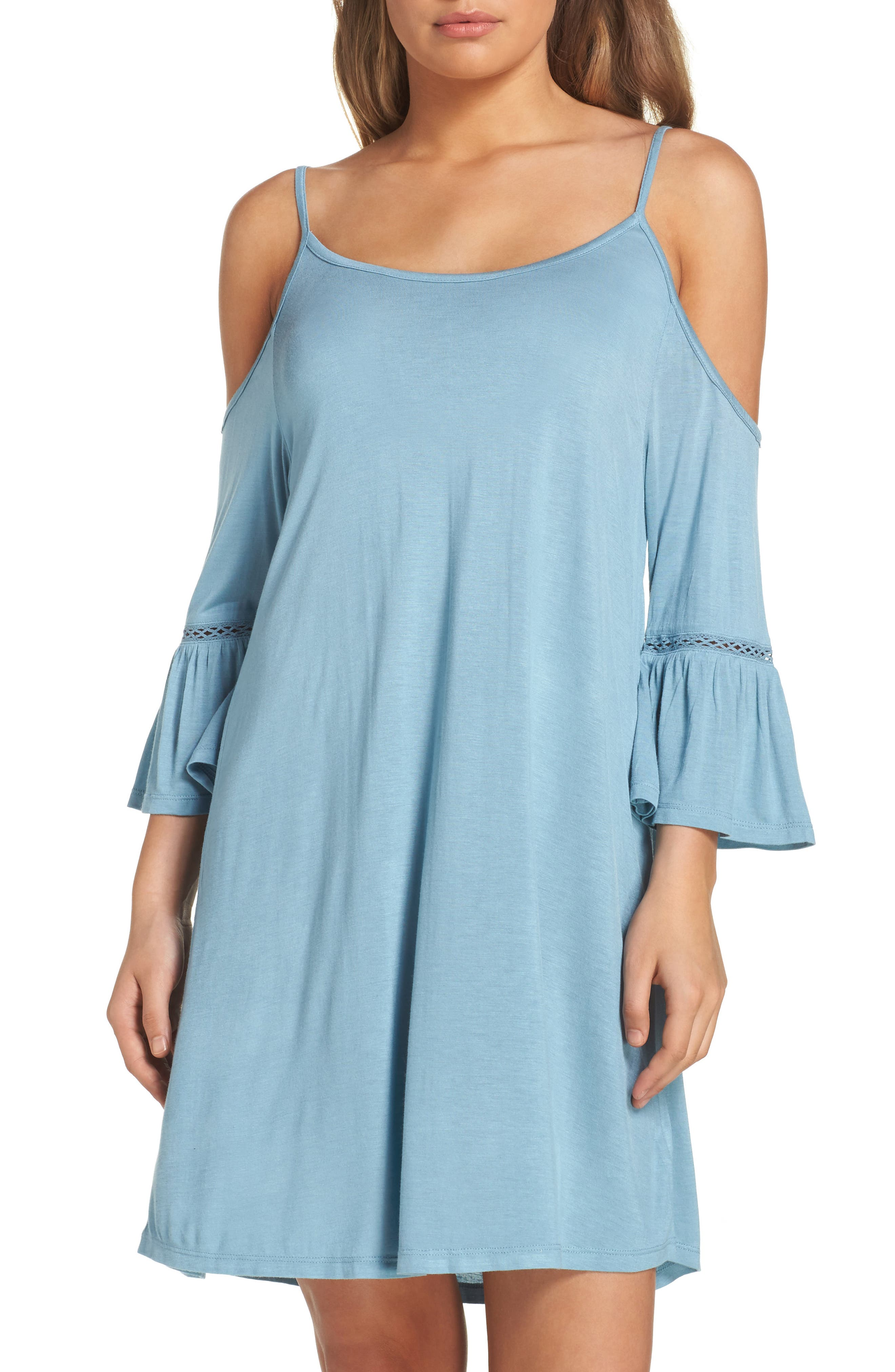 Leith Cold Shoulder Cover-Up Dress