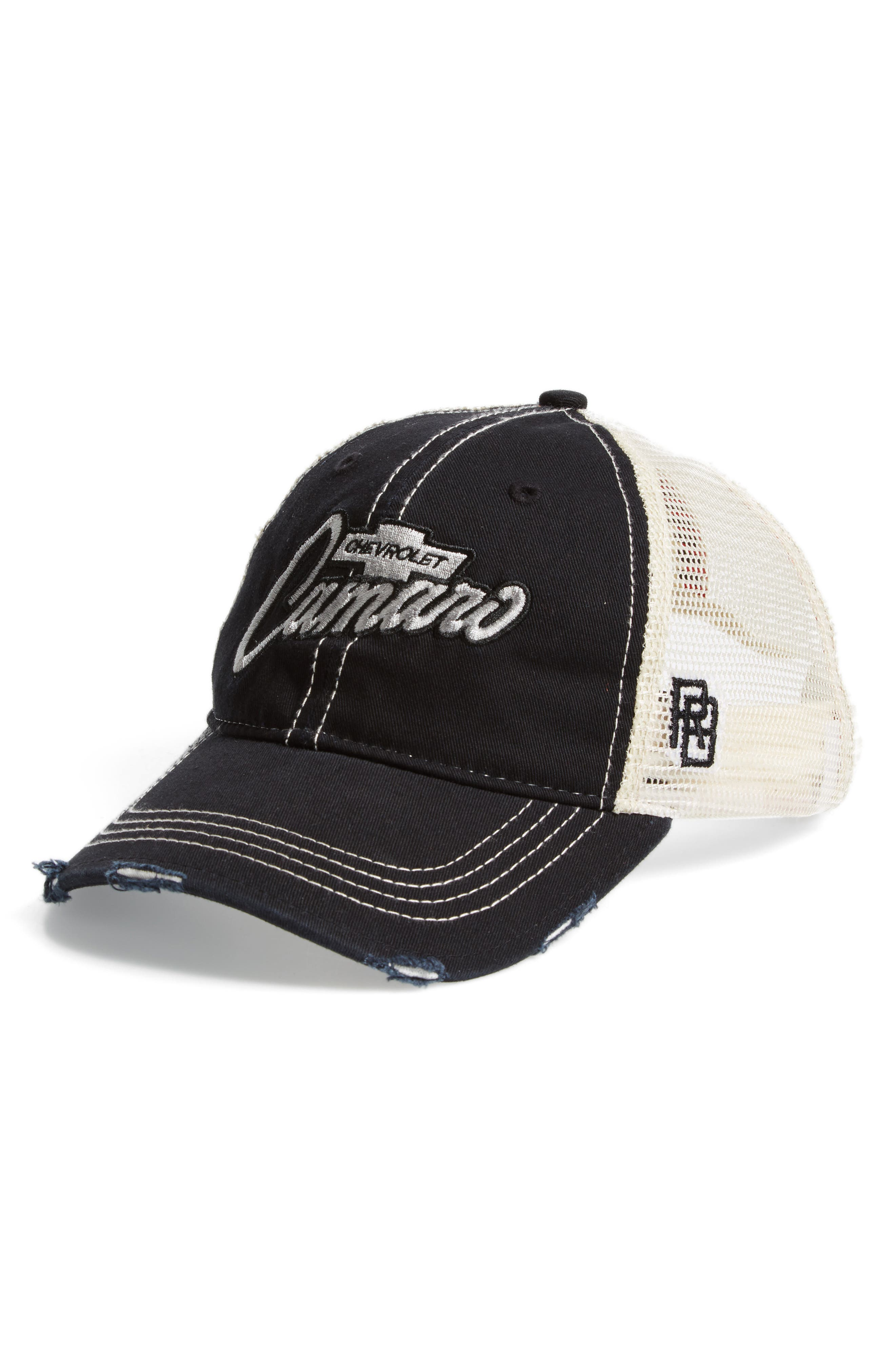 Original Retro Brand Camaro Trucker Hat,                             Main thumbnail 1, color,                             Black