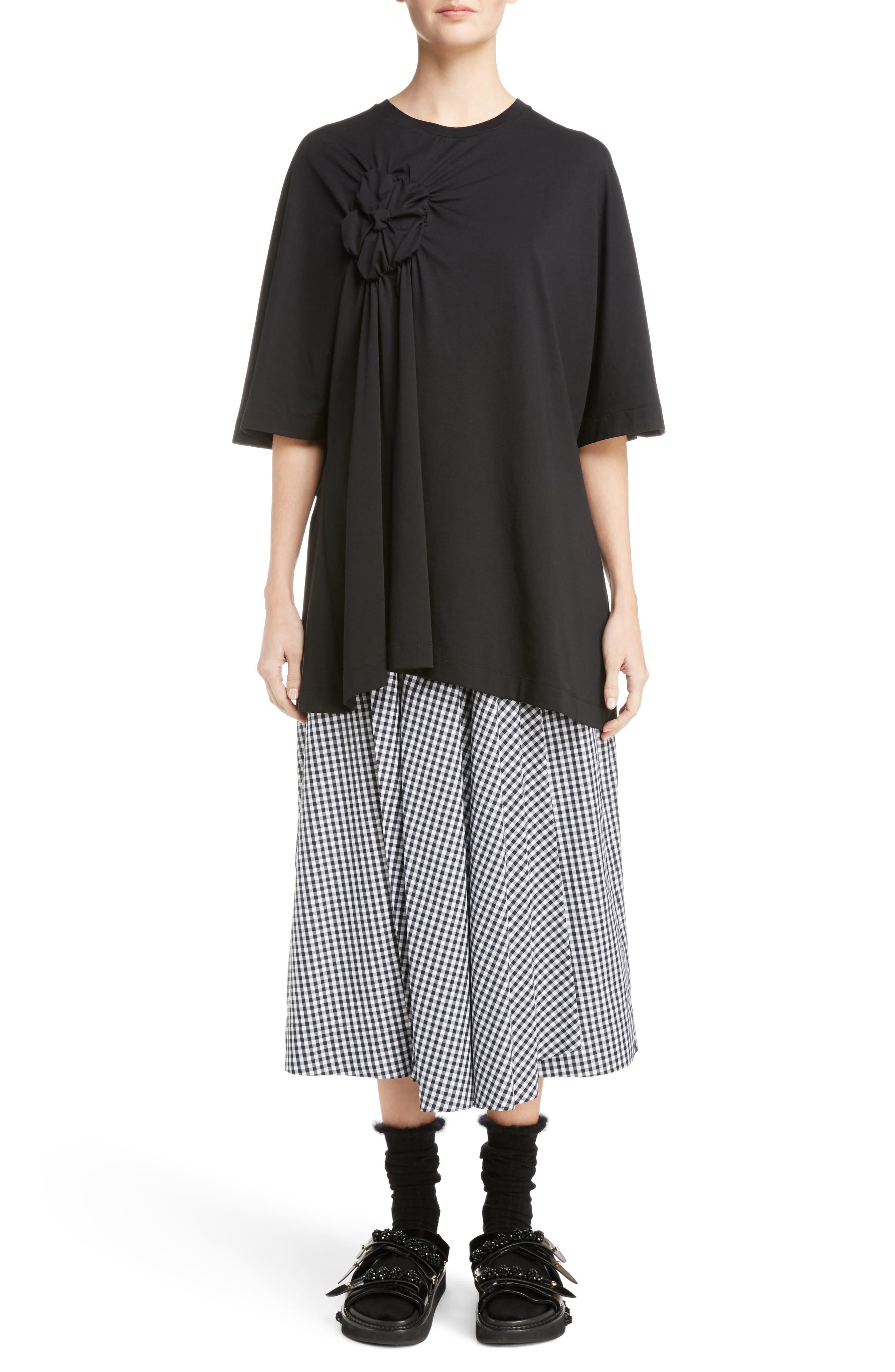 Alternate Image 7  - Simone Rocha Three-Panel Gingham Midi Skirt (Nordstrom Exclusive)