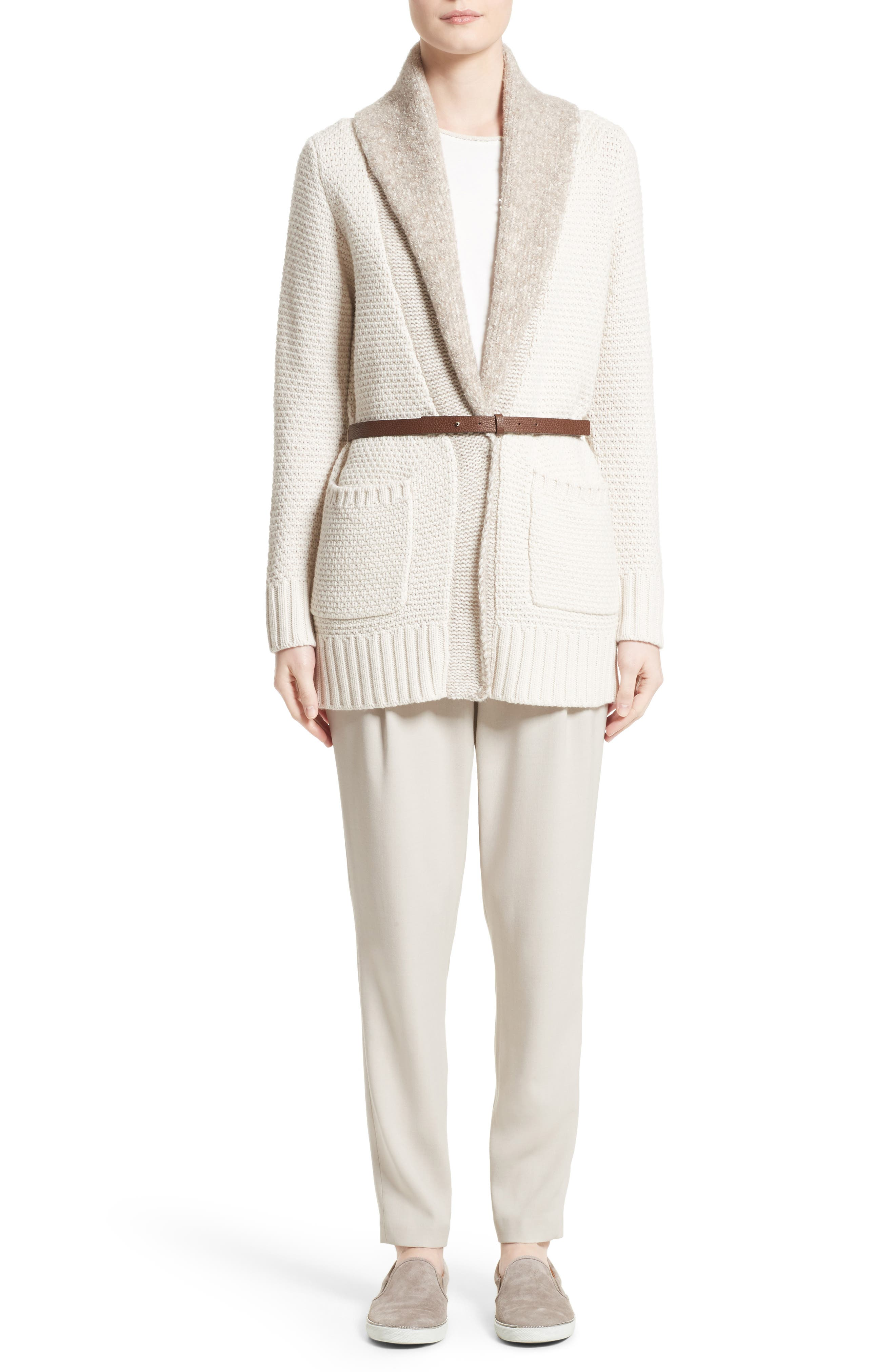 Alternate Image 7  - Fabiana Filippi Wool, Silk & Cashmere Knit Cardigan
