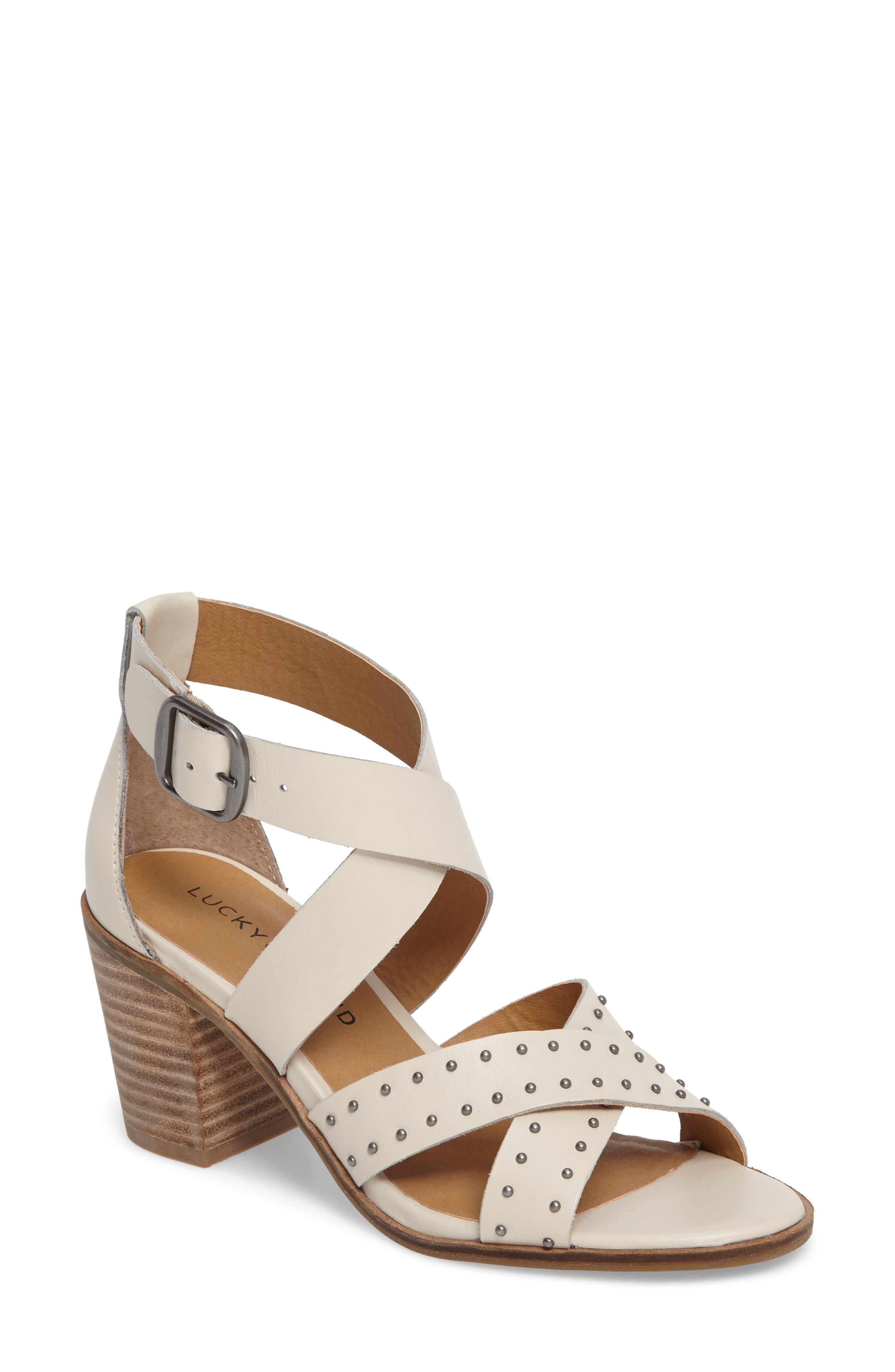 Lucky Brand Kesey Block Heel Sandal (Women)