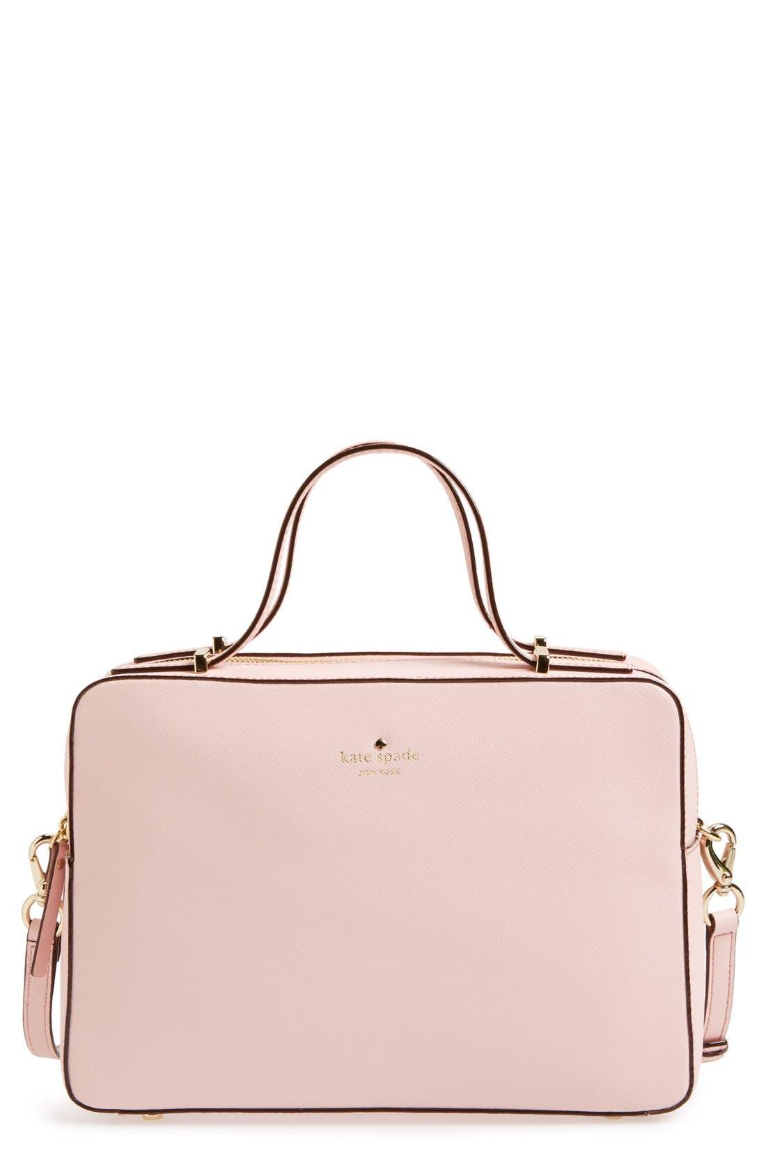 'cedar street - joyce' crossbody bag,                             Main thumbnail 1, color,                             Rosy Dawn