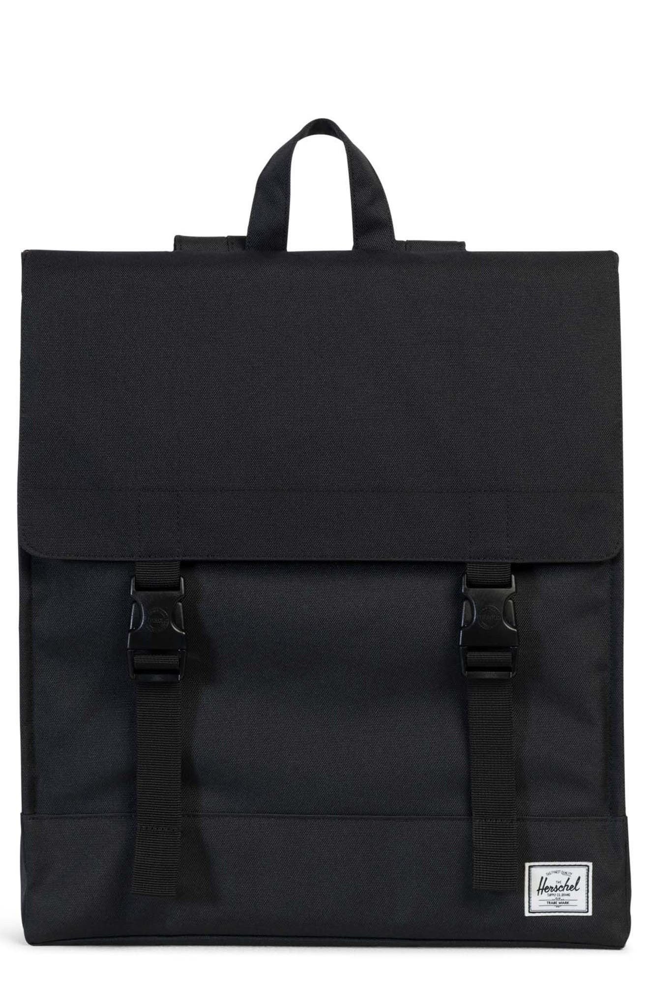 Survey Backpack,                         Main,                         color, Black