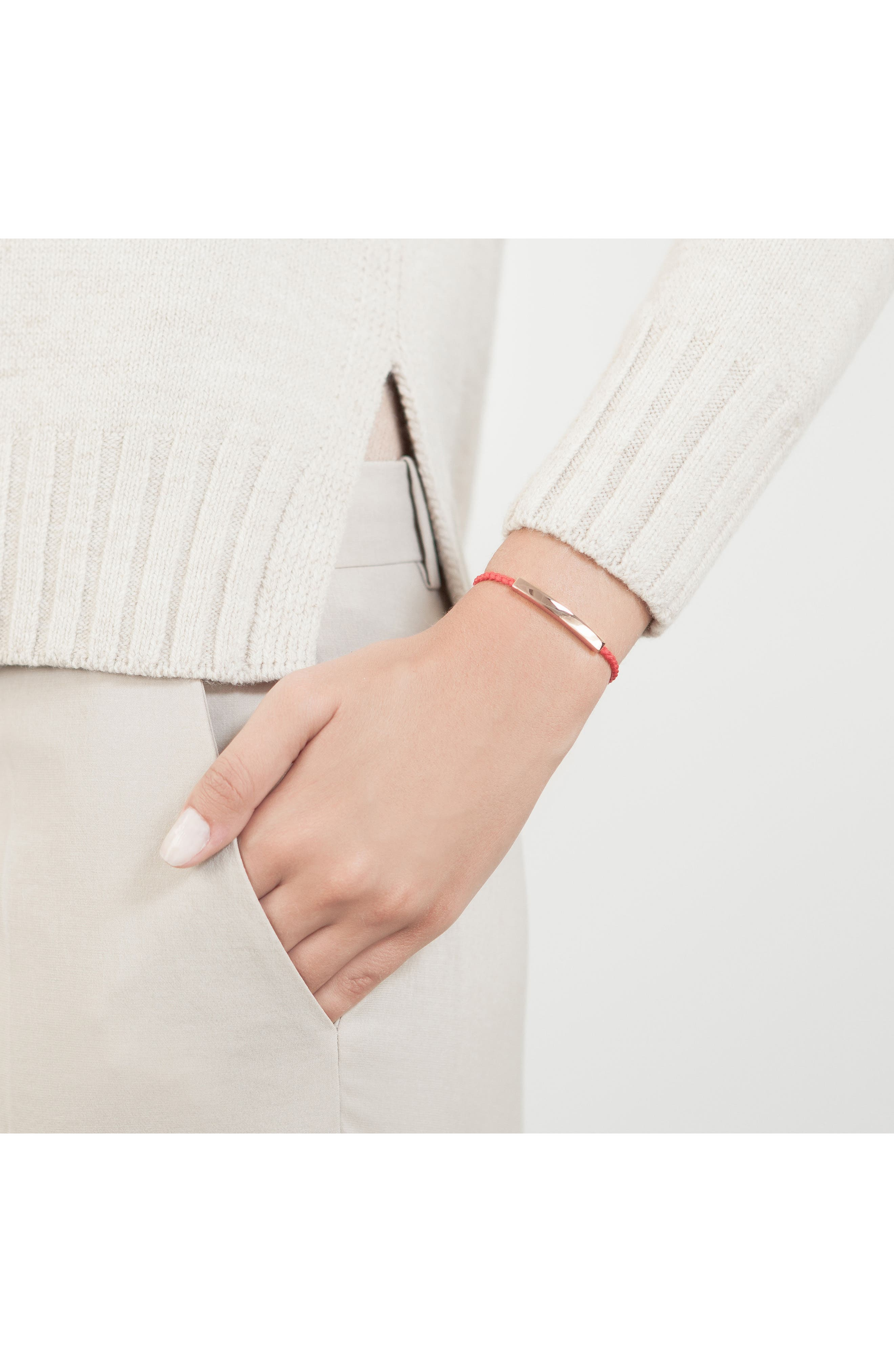 Alternate Image 2  - Monica Vinader Linear Bar Friendship Bracelet